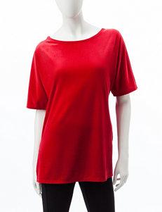 75f46e9ffde Doorbuster Rebecca Malone Dark Red Shirts   Blouses
