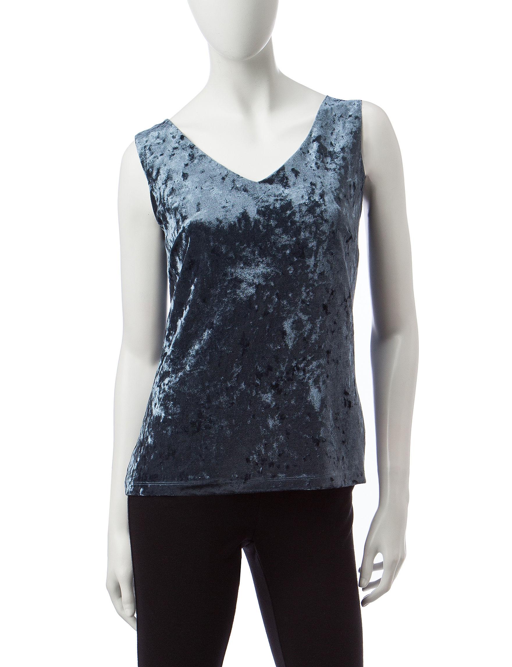 Valerie Stevens Slate Shirts & Blouses