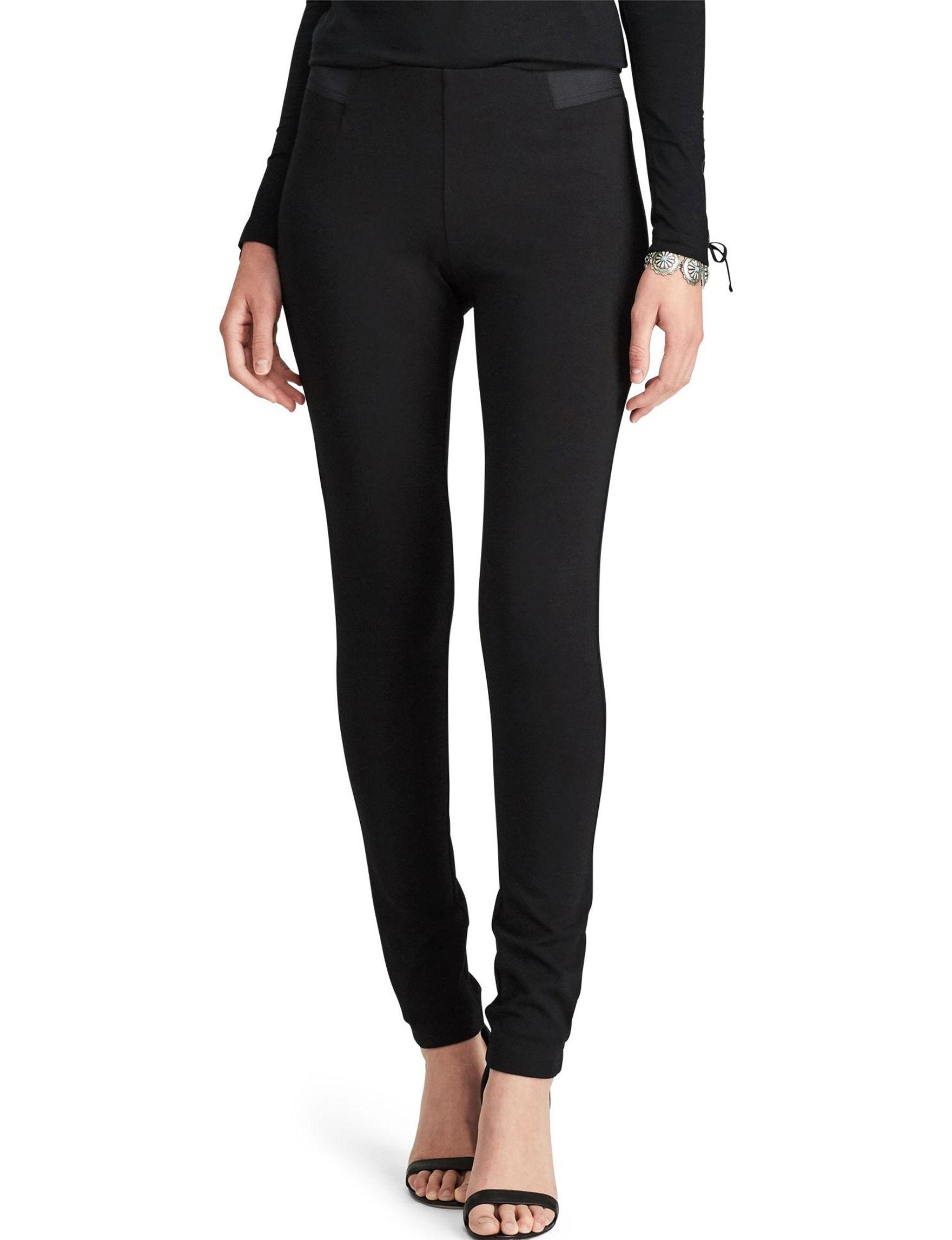 Chaps Black Soft Pants
