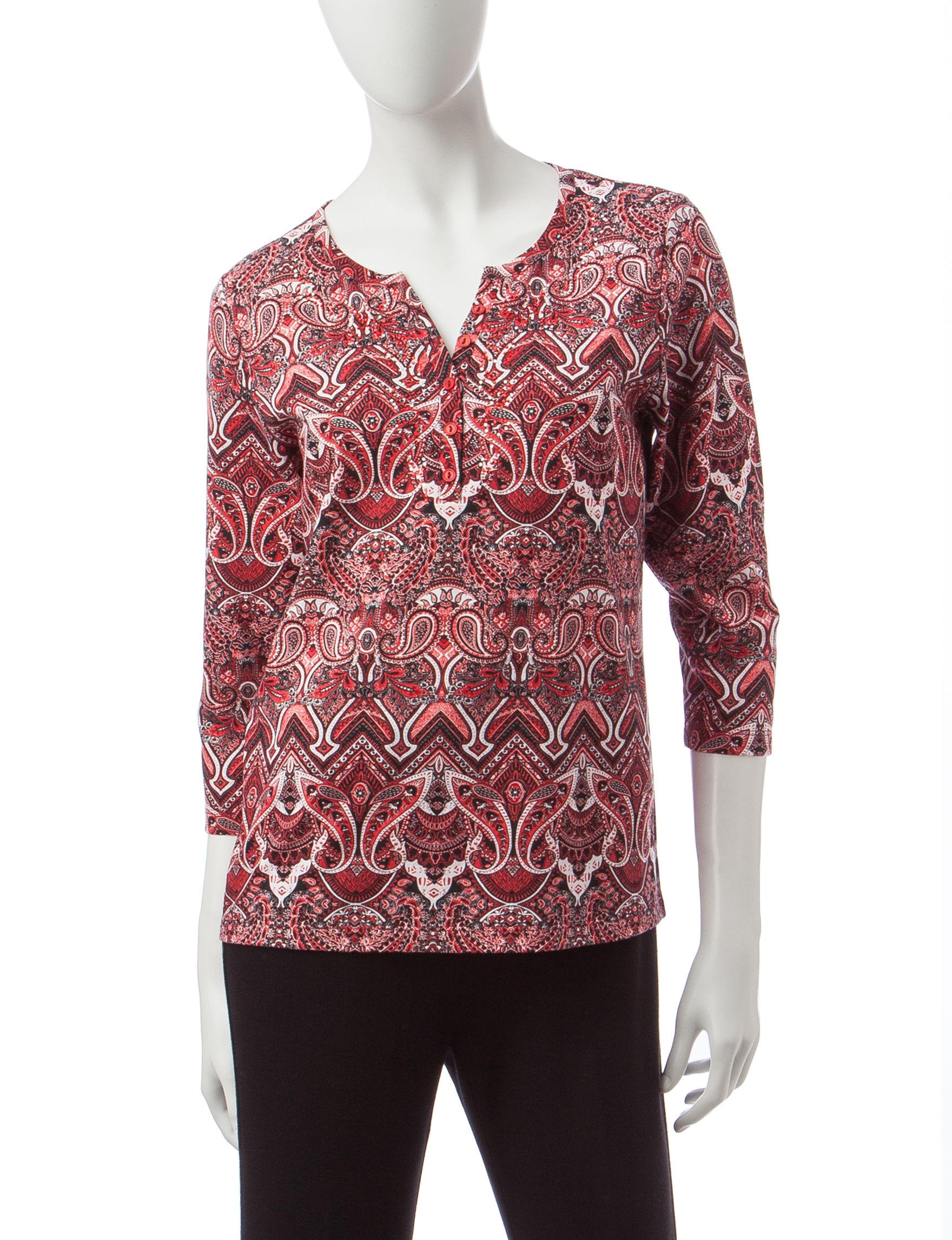 Rebecca Malone Multi Shirts & Blouses
