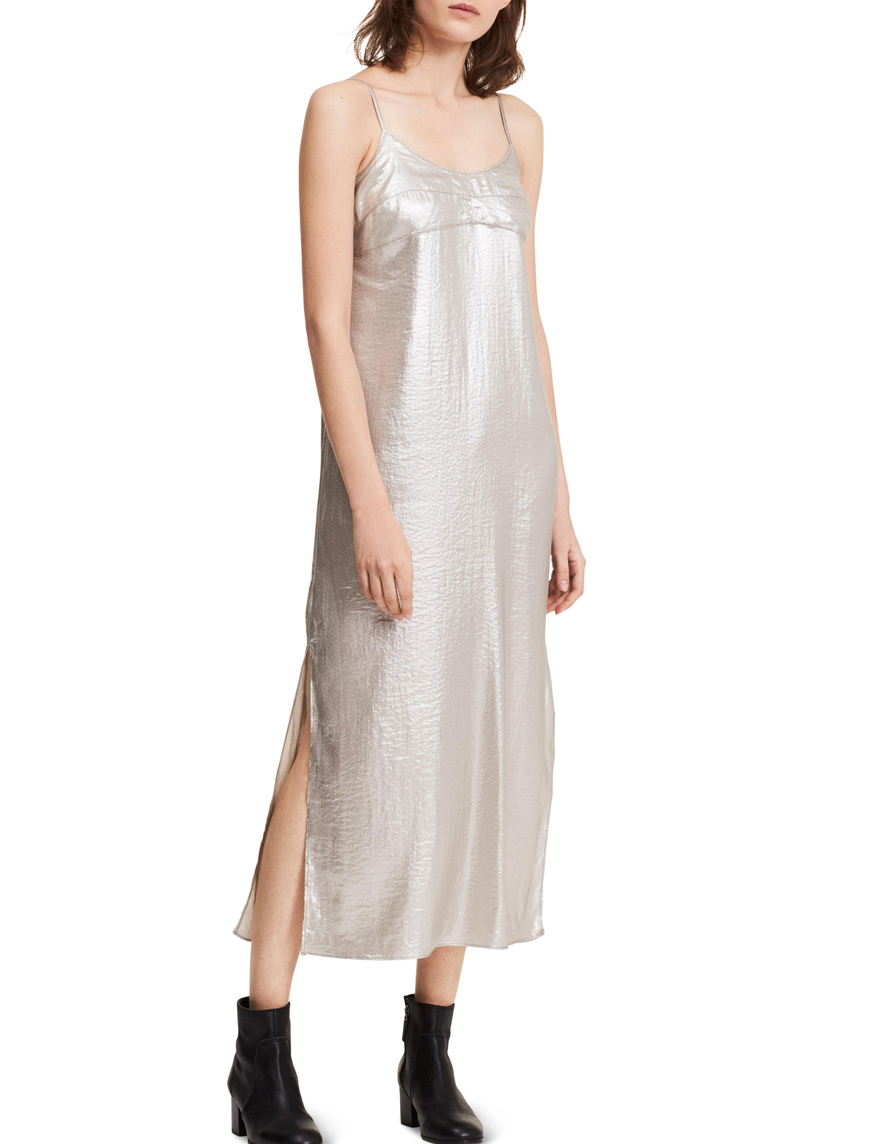 Calvin Klein Jeans Silver Cocktail & Party Shift Dresses