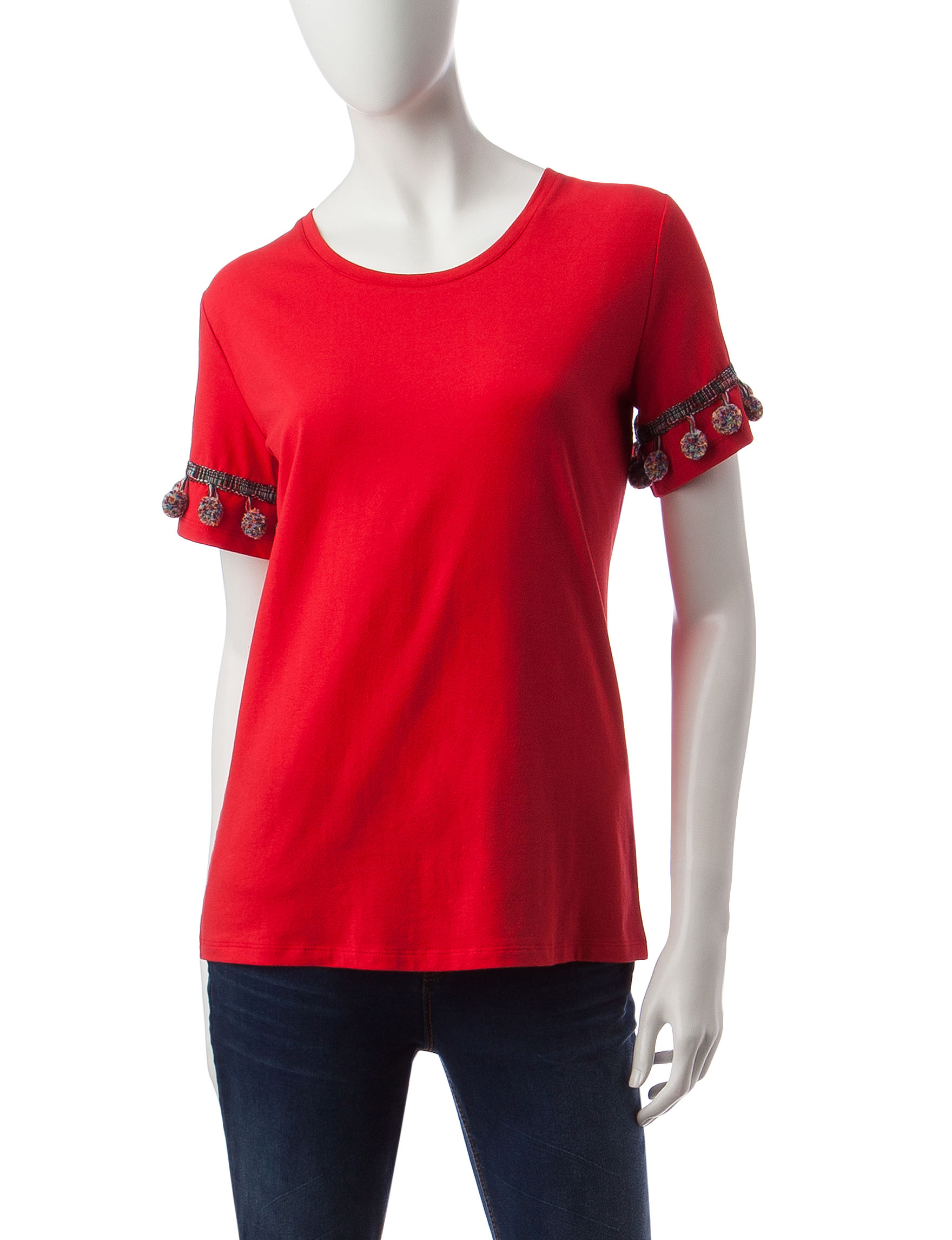 Rebecca Malone Red Shirts & Blouses