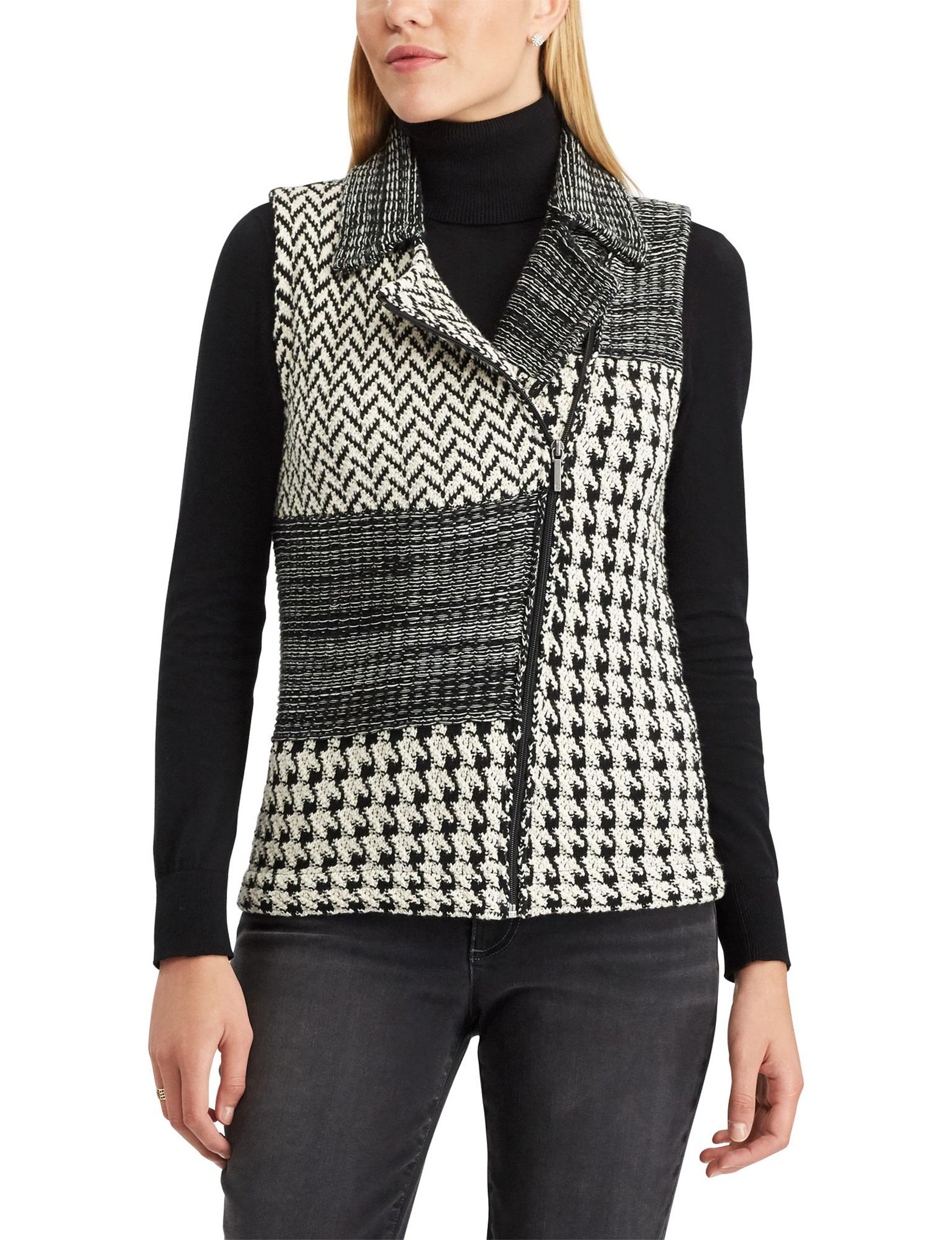 Chaps Multi-Patterned Sweater Vest | Stage Stores