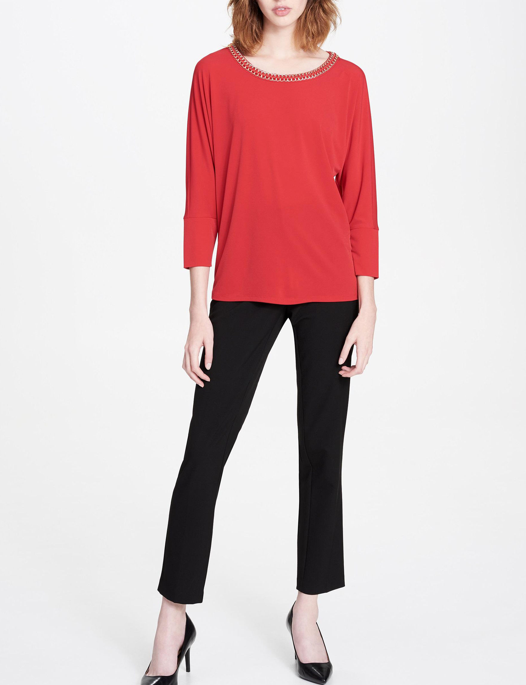 Calvin Klein Rouge Shirts & Blouses