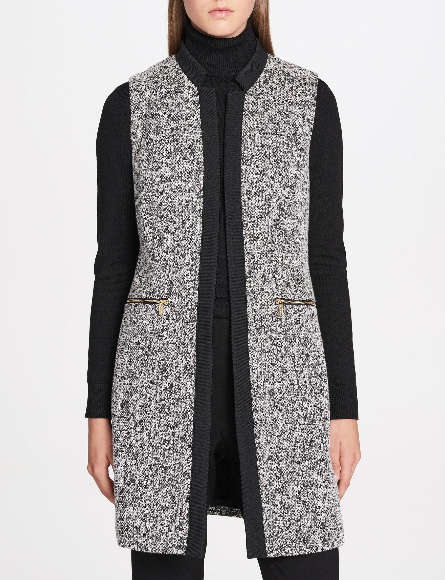 Calvin Klein Black Tunics Vests