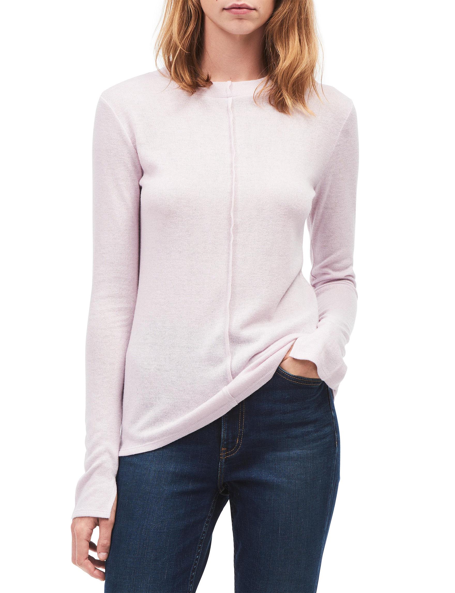 Calvin Klein Jeans Light Purple Pull-overs