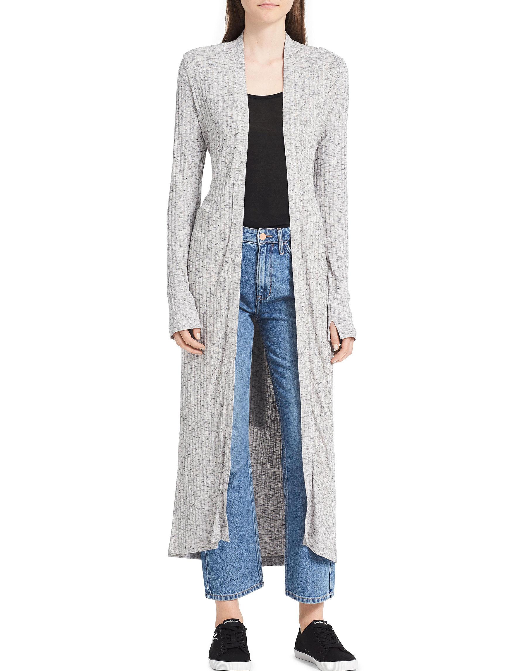 Calvin Klein Jeans Grey Cardigans