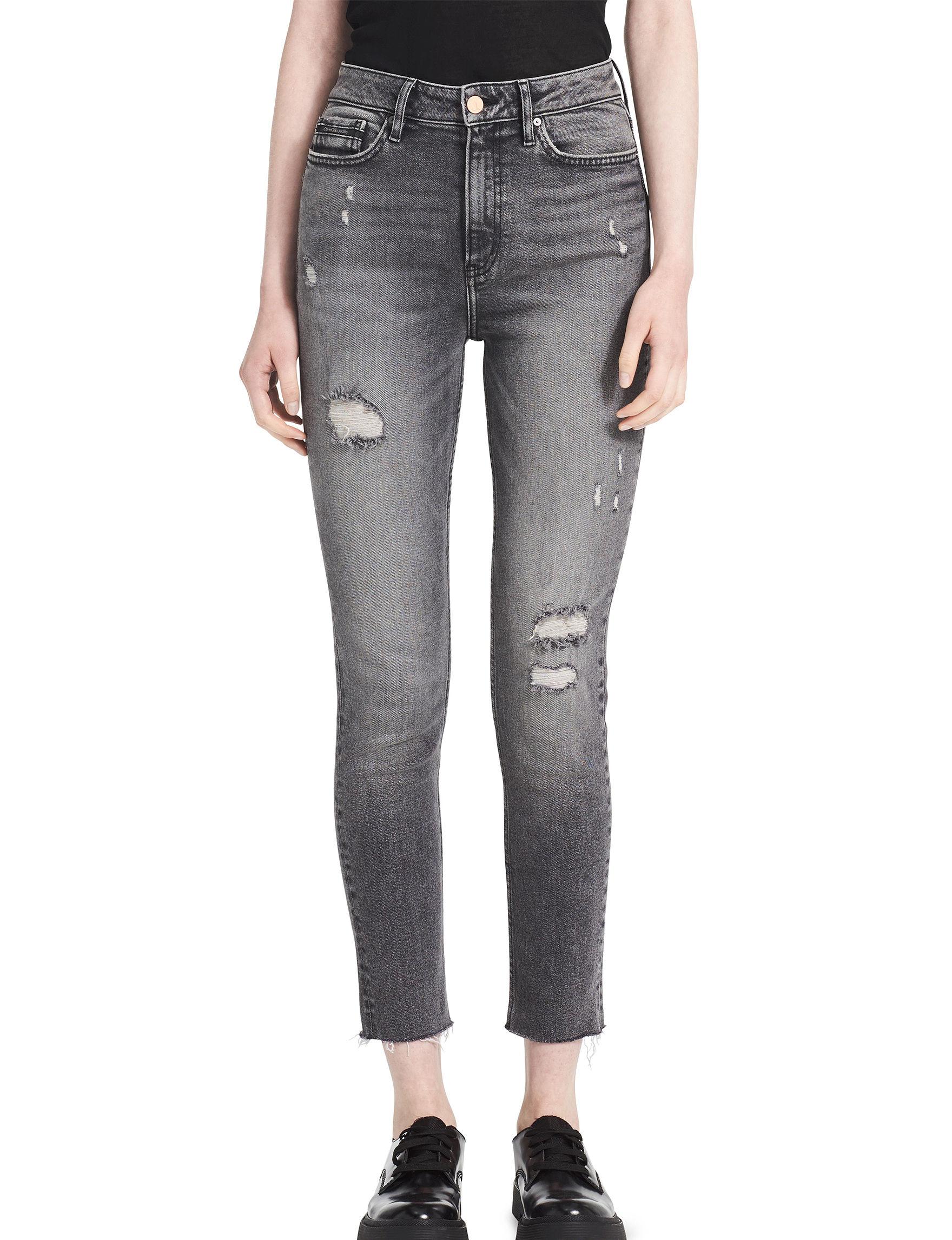 Calvin Klein Jeans Grey Skinny