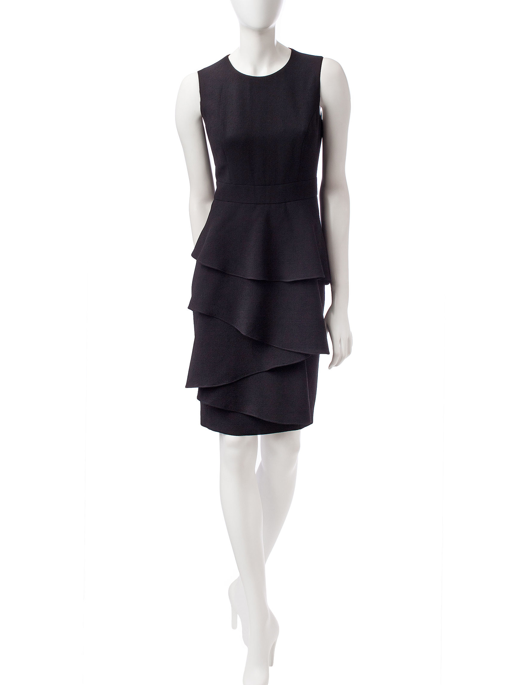 Anne Klein Black Cocktail & Party Everyday & Casual Sheath Dresses