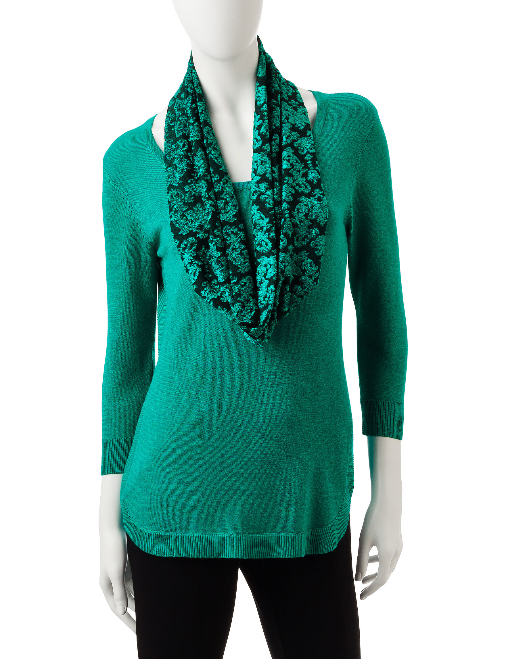 Rebecca Malone Turquoise Shirts & Blouses