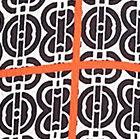 Ivory / Black / Orange