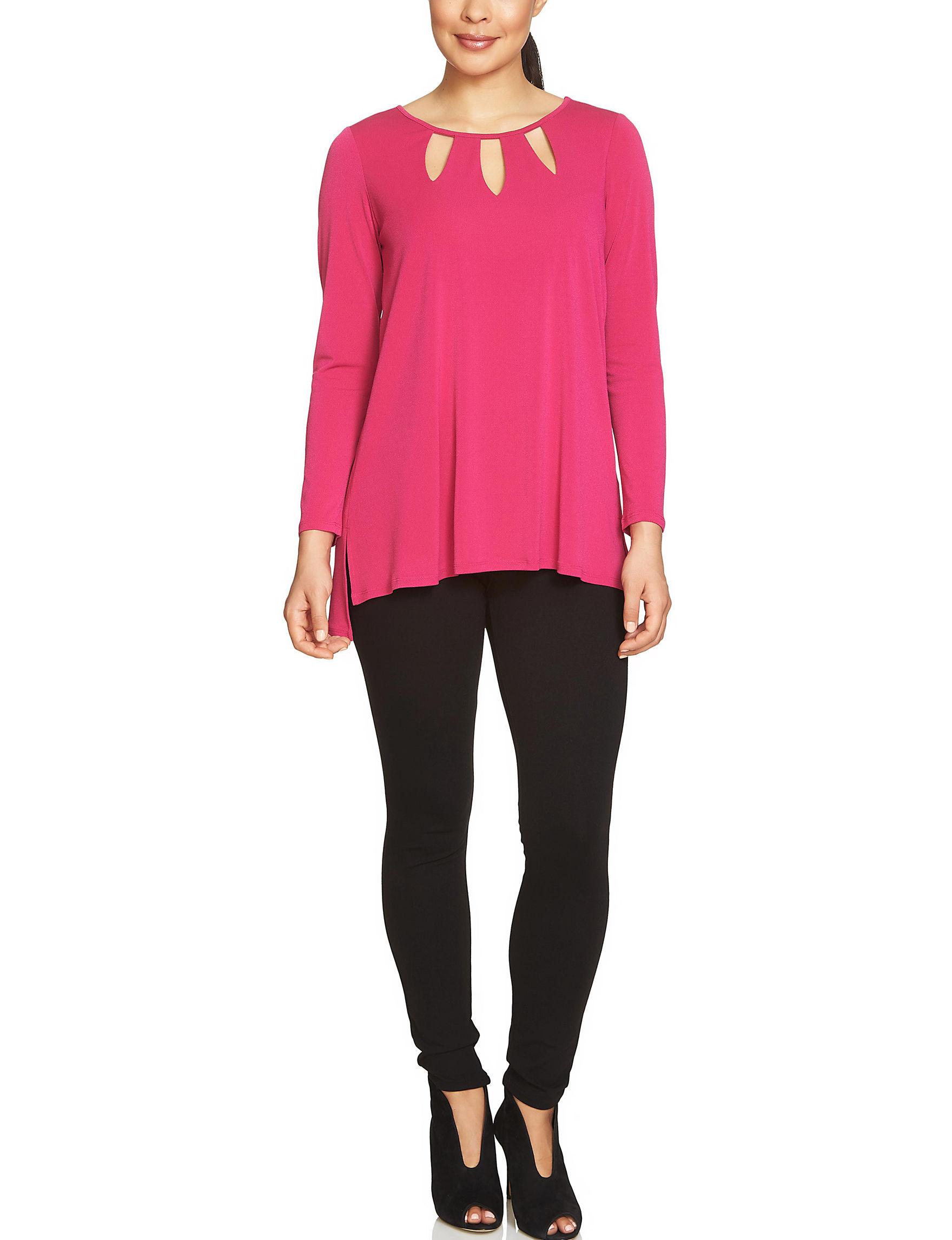 Chaus Fuchsia Shirts & Blouses