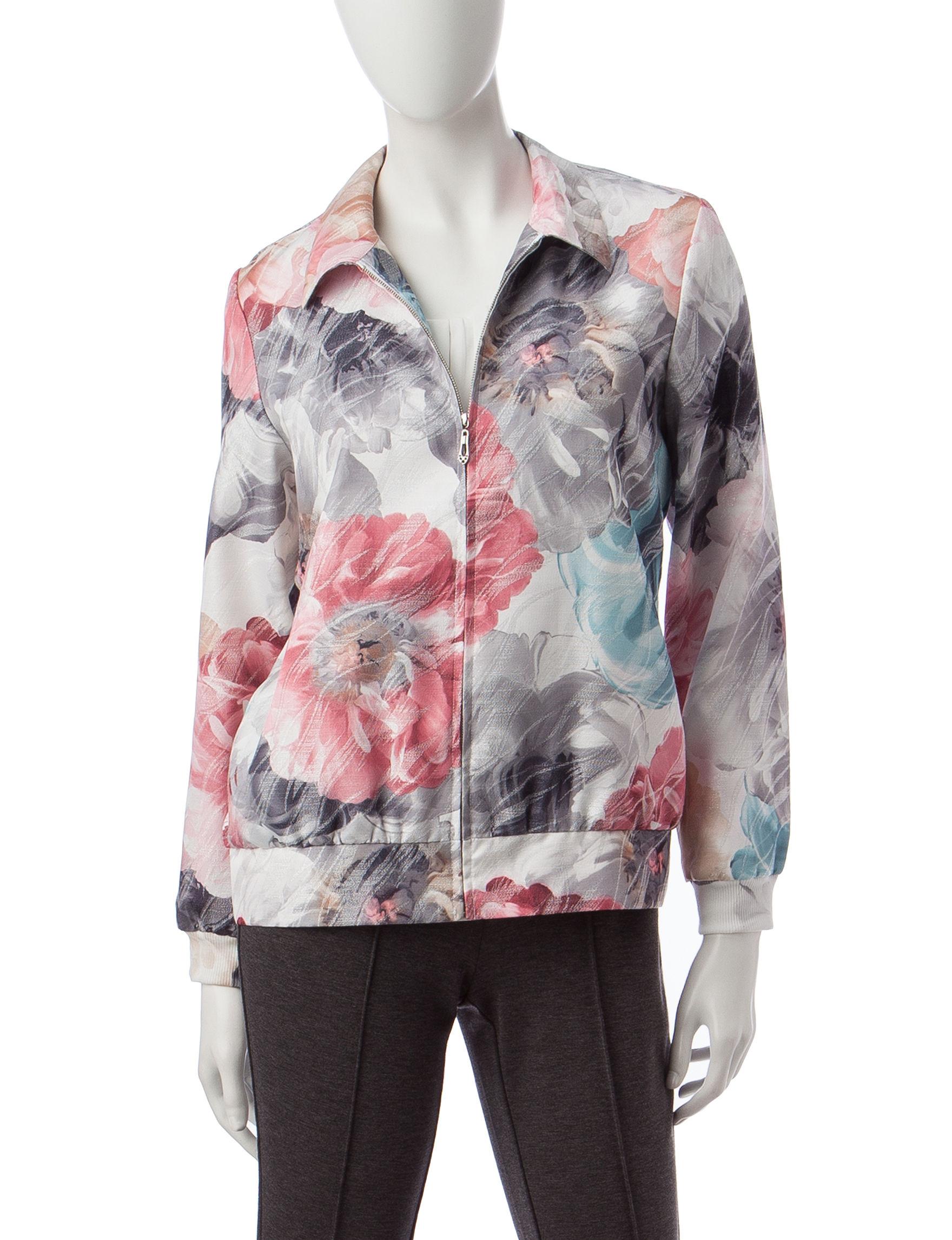 Alfred Dunner Multi Lightweight Jackets & Blazers