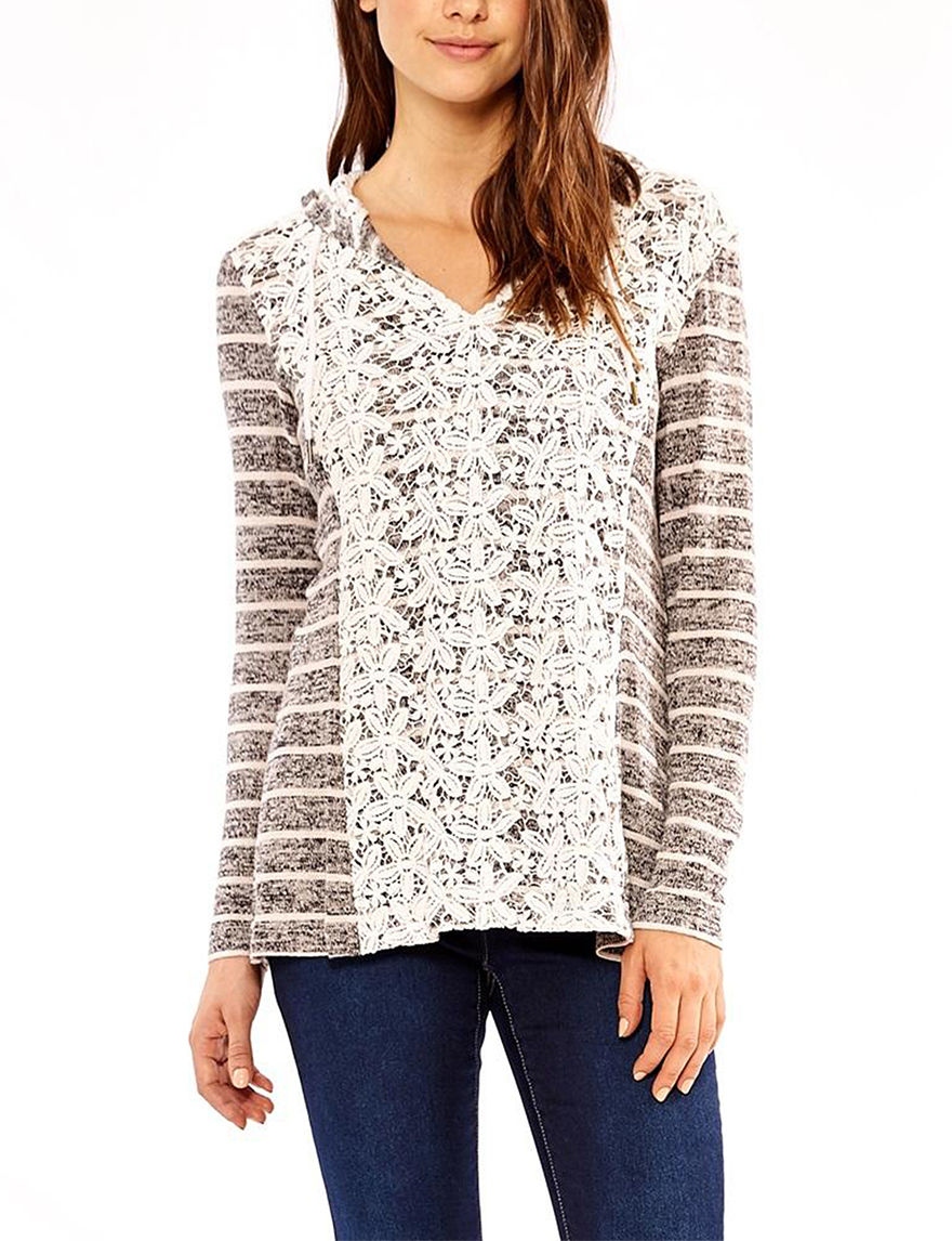Skyes The Limit Grey Multi Pull-overs