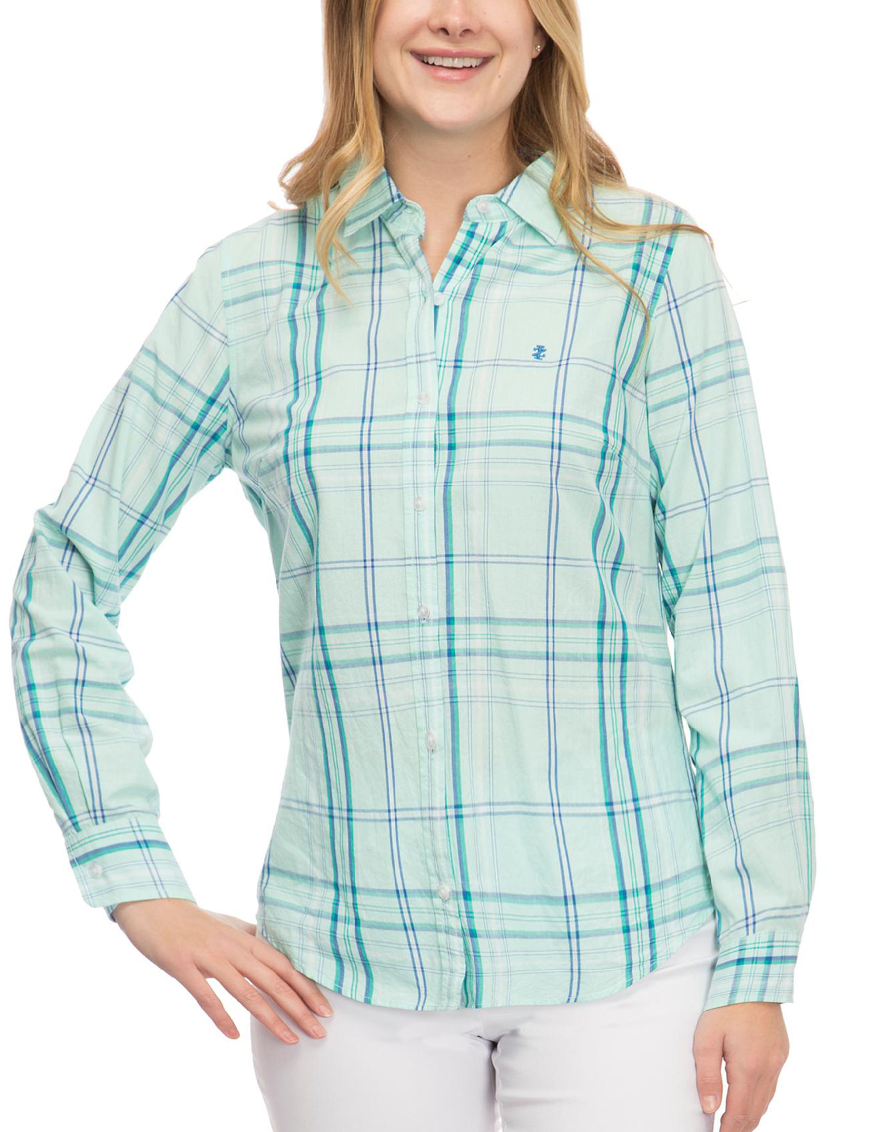 Izod Aqua Shirts & Blouses