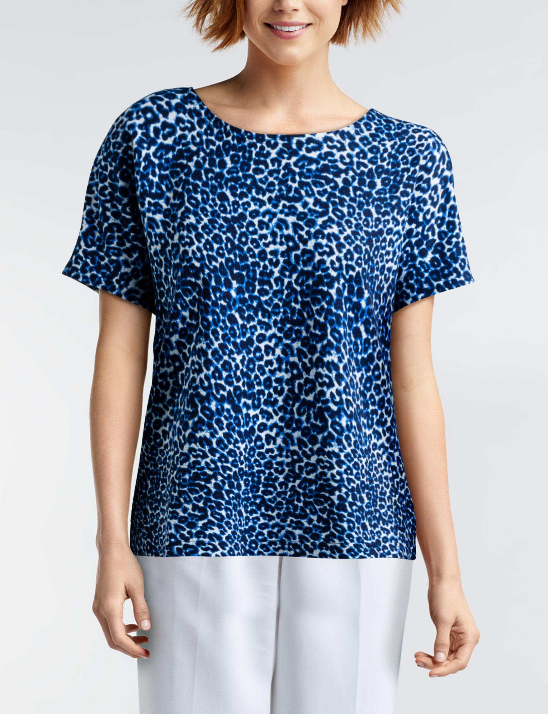 Cathy Daniels Leopard Shirts & Blouses