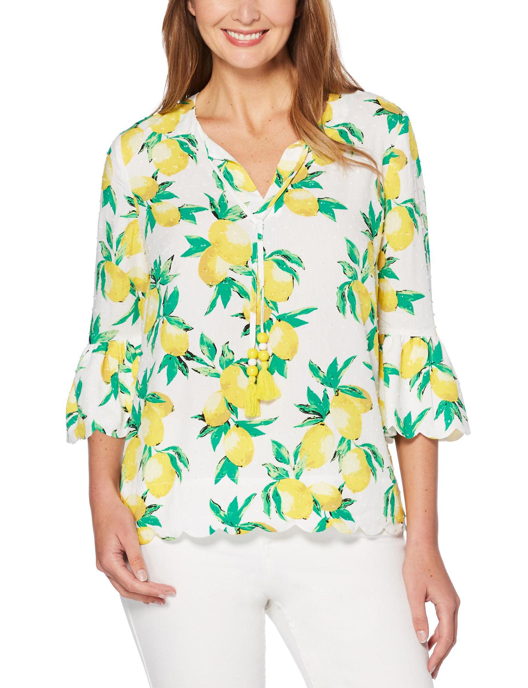 Rafaella White Shirts & Blouses
