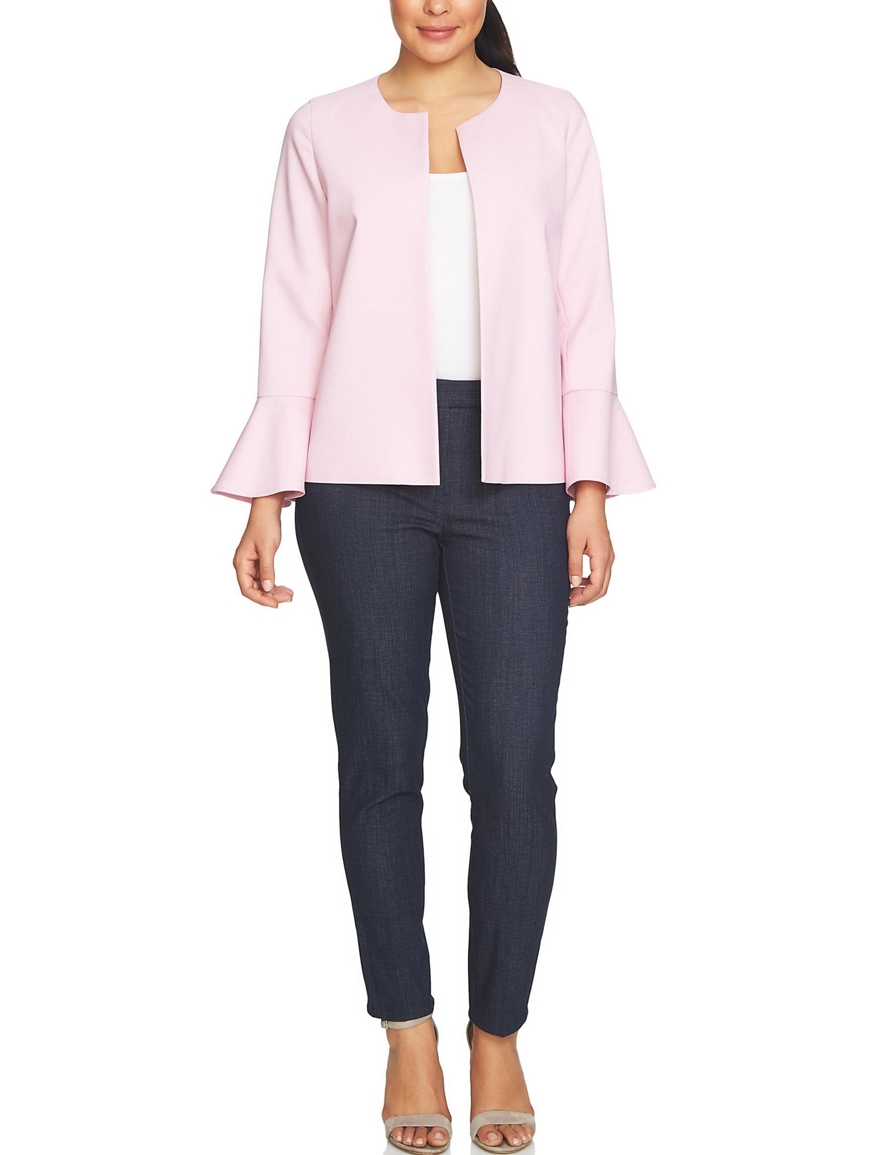 Chaus Pink Lightweight Jackets & Blazers