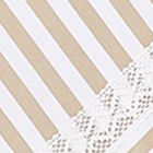 Tan / White