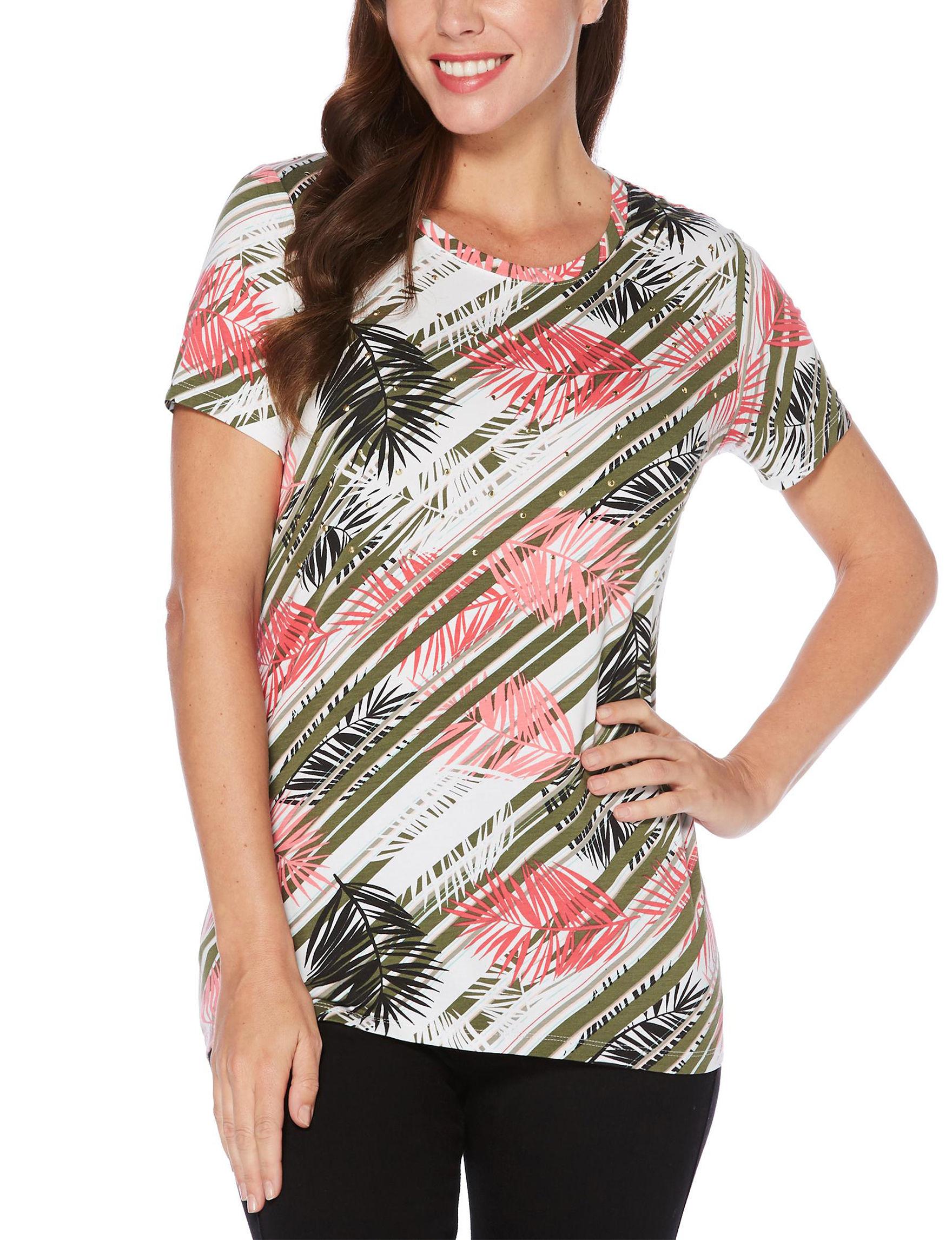 Rafaella Olive Shirts & Blouses