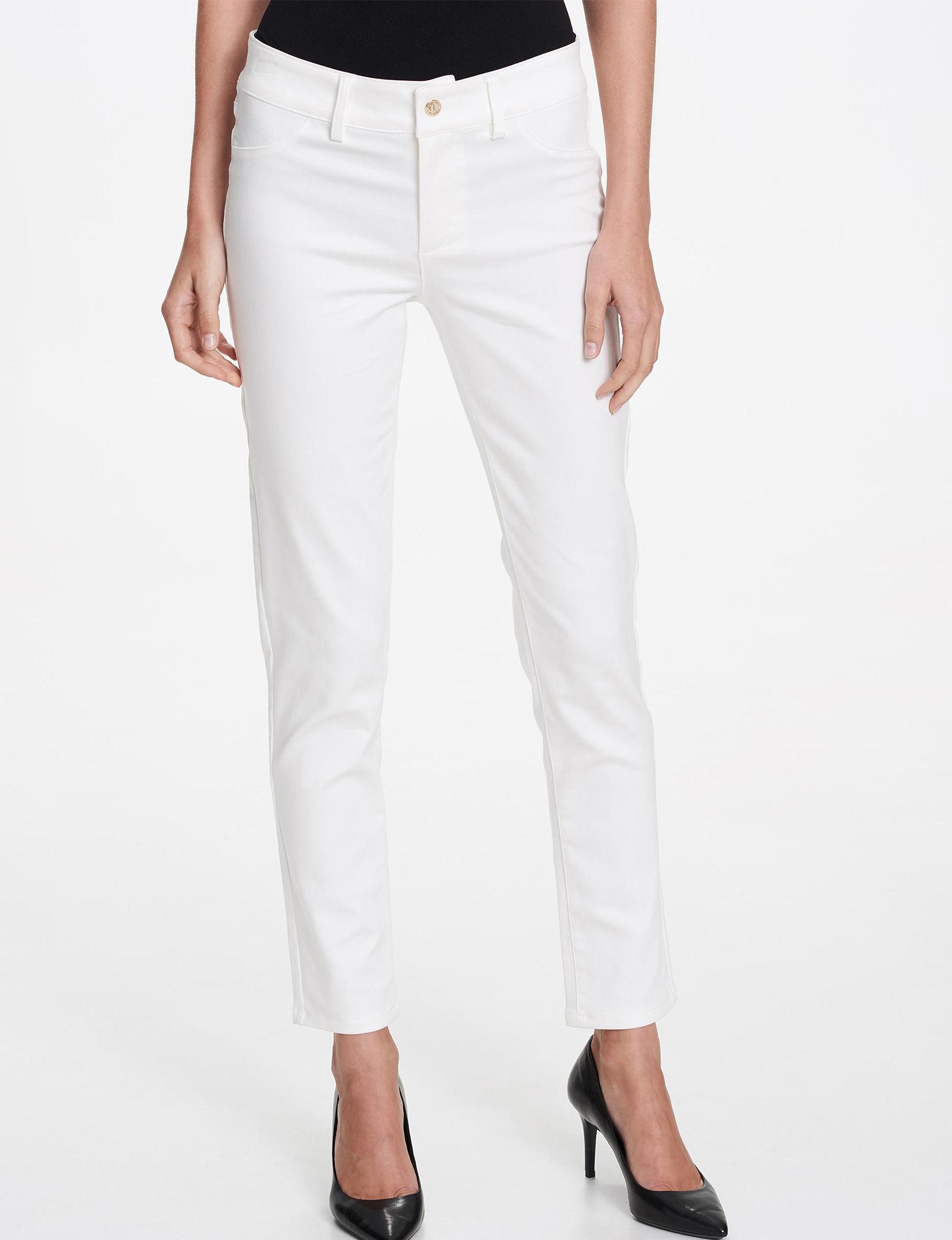 Calvin Klein White Soft Pants