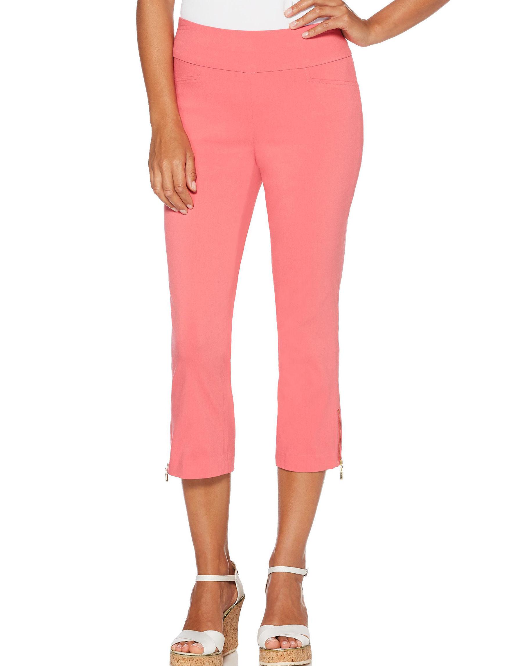 Rafaella Pink Capris & Crops Stretch