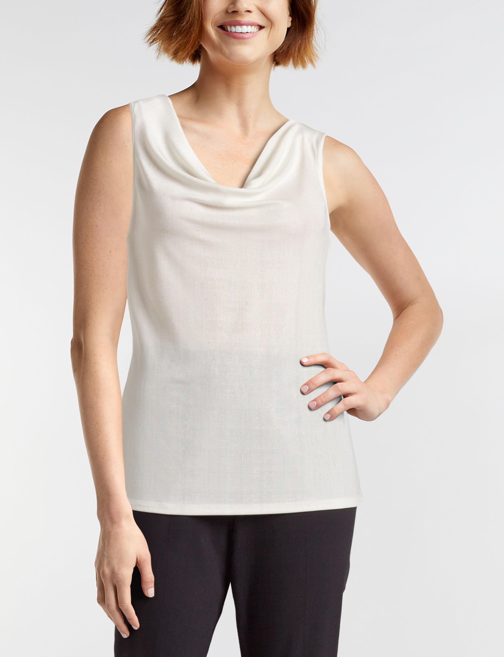 JM Studio Ivory Shirts & Blouses