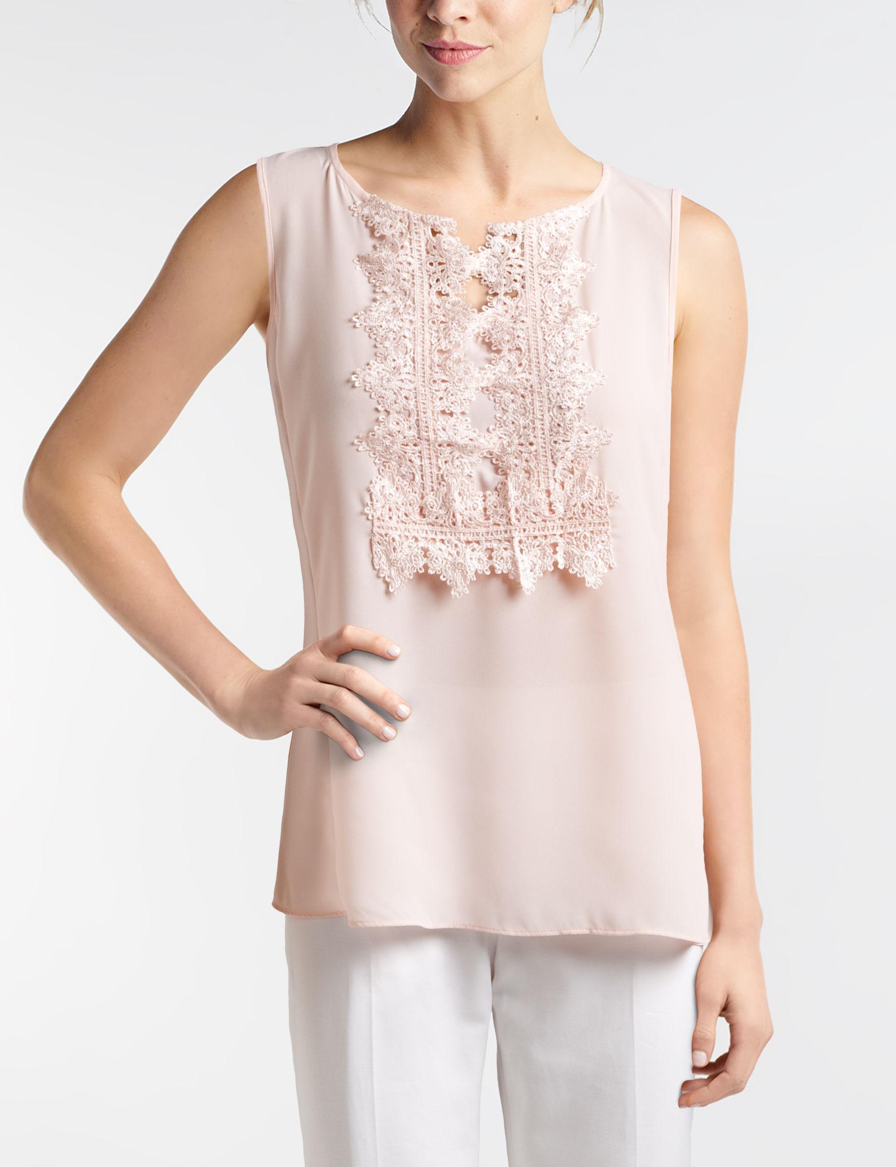 Zac & Rachel Pink Shirts & Blouses