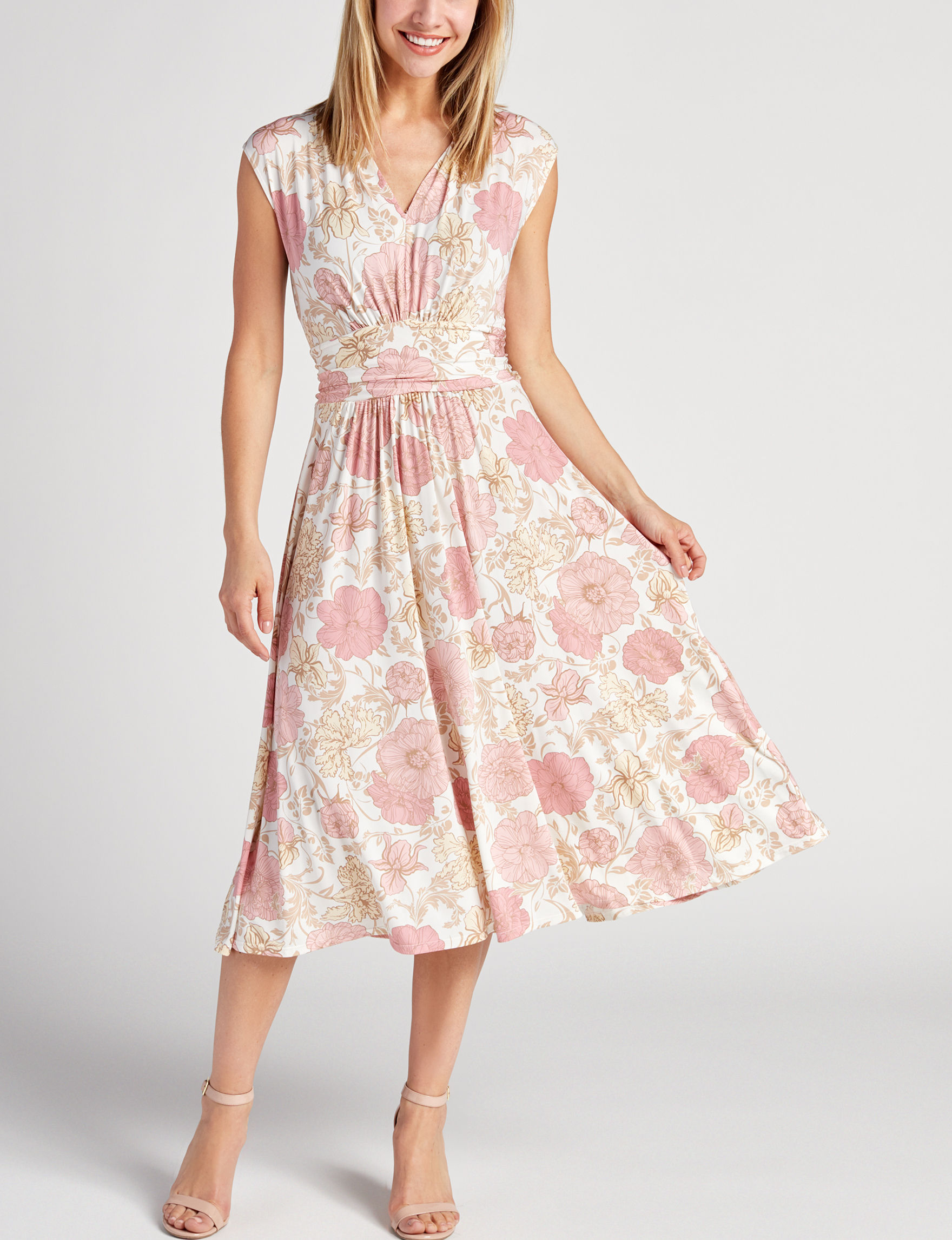 Ruby Road Pink Floral Everyday & Casual