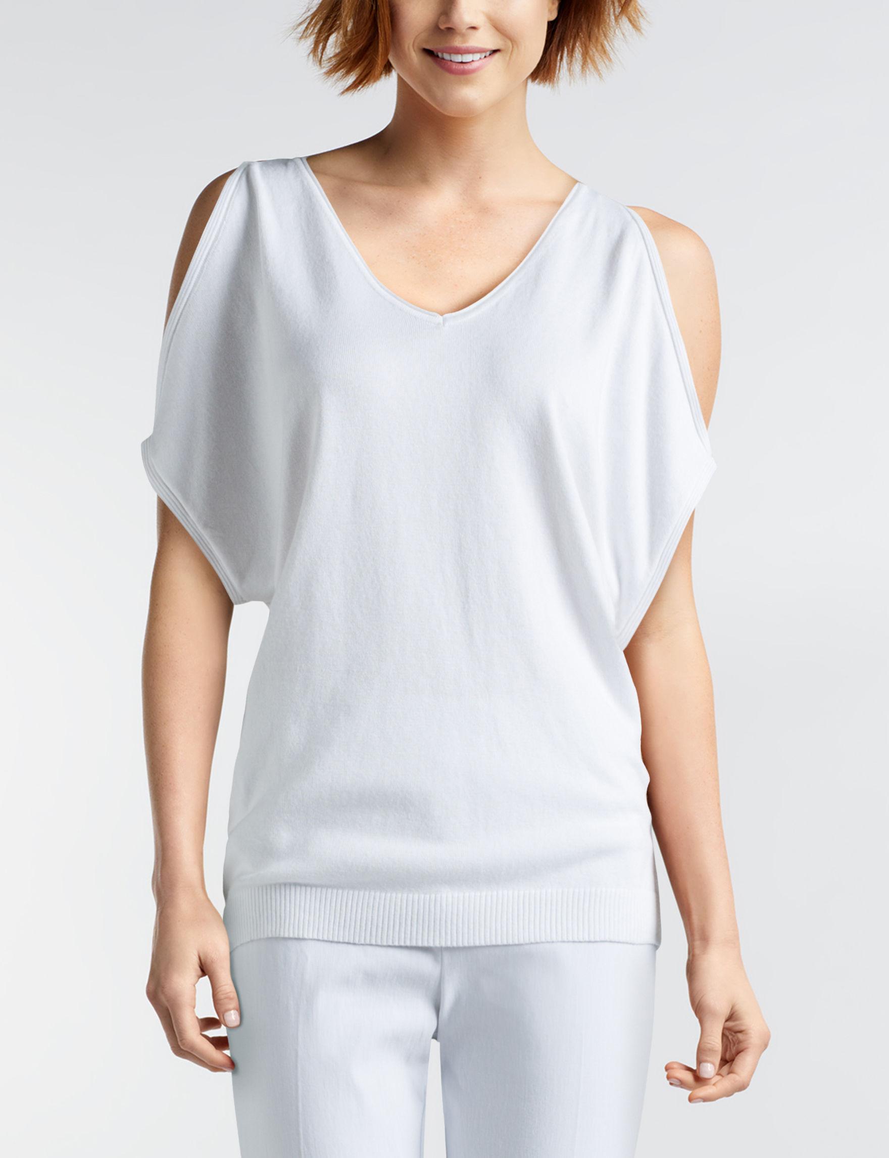 Joseph A White Shirts & Blouses