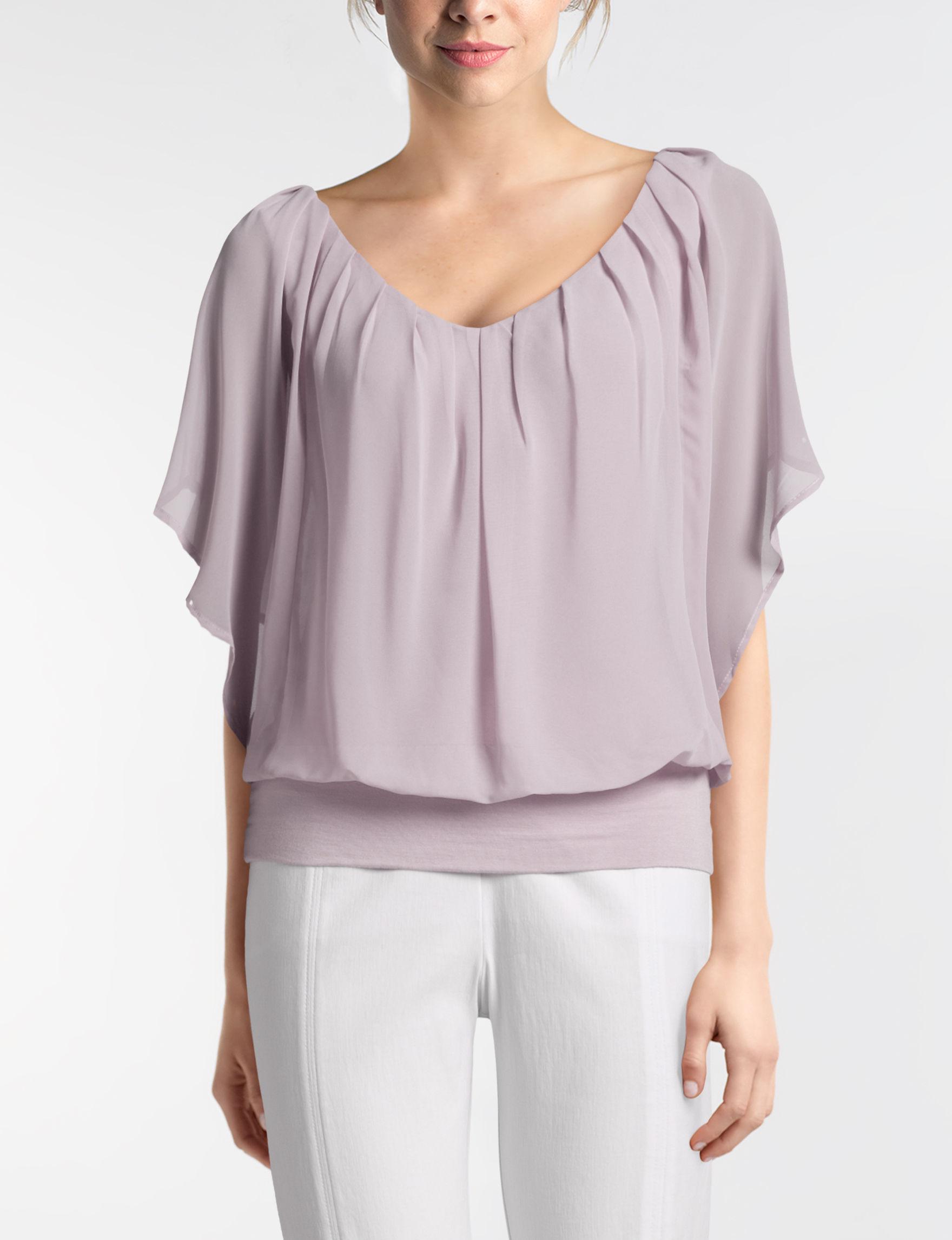 Joseph A Grey Shirts & Blouses