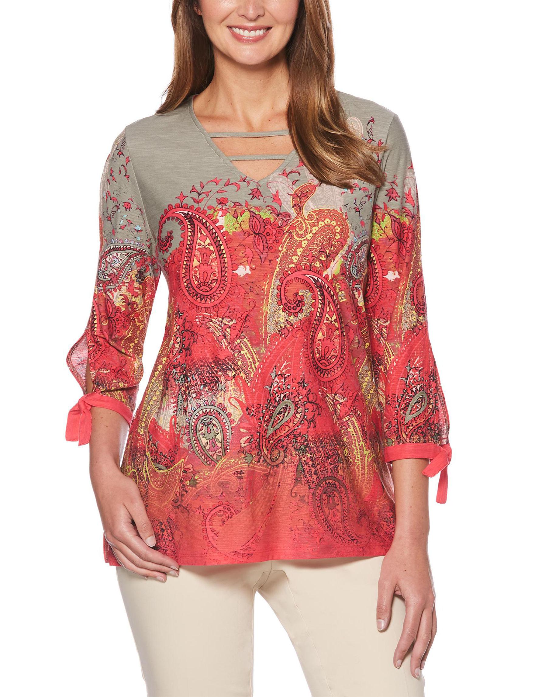 Rafaella Paisley Shirts & Blouses