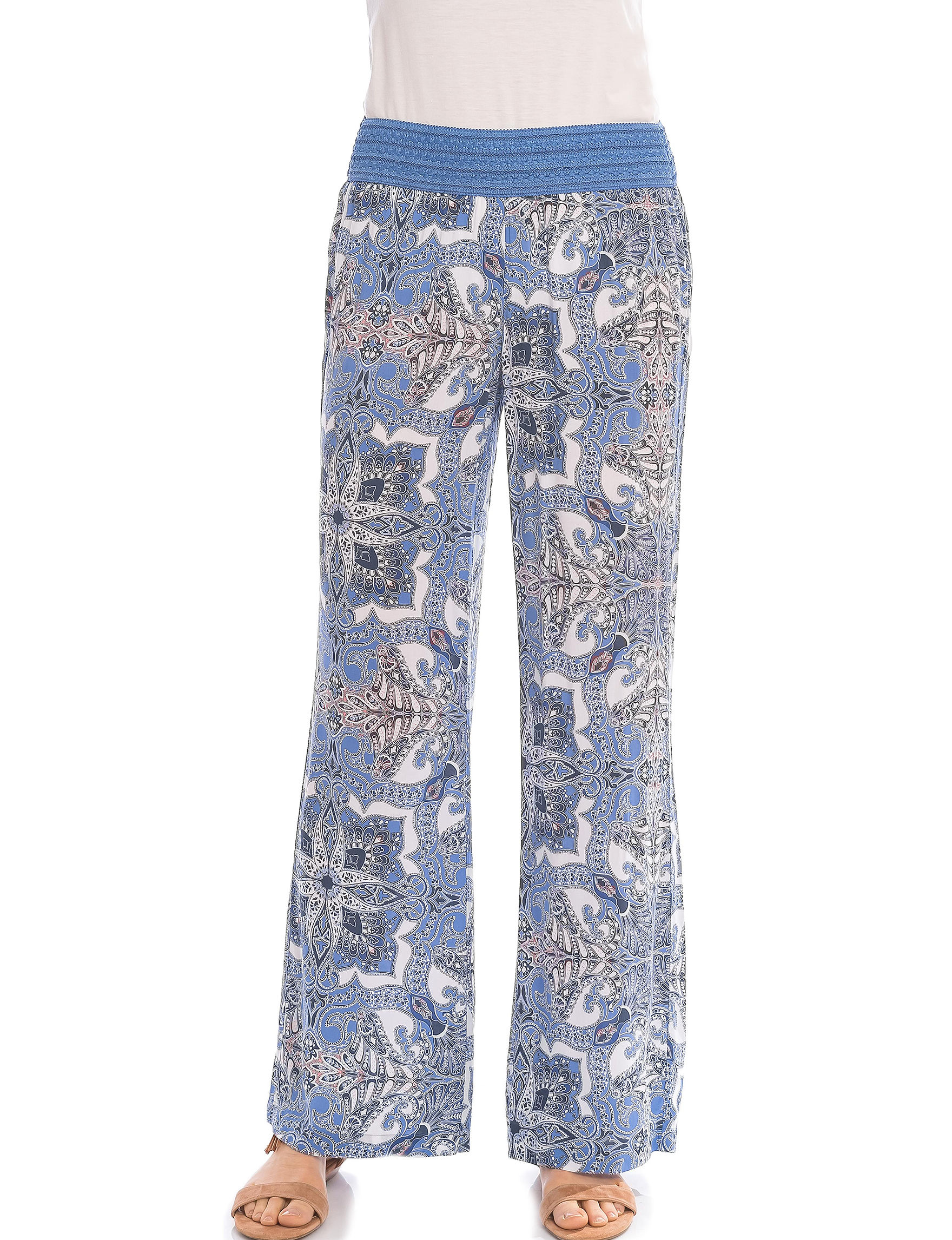 Skyes The Limit Blue Multi Soft Pants