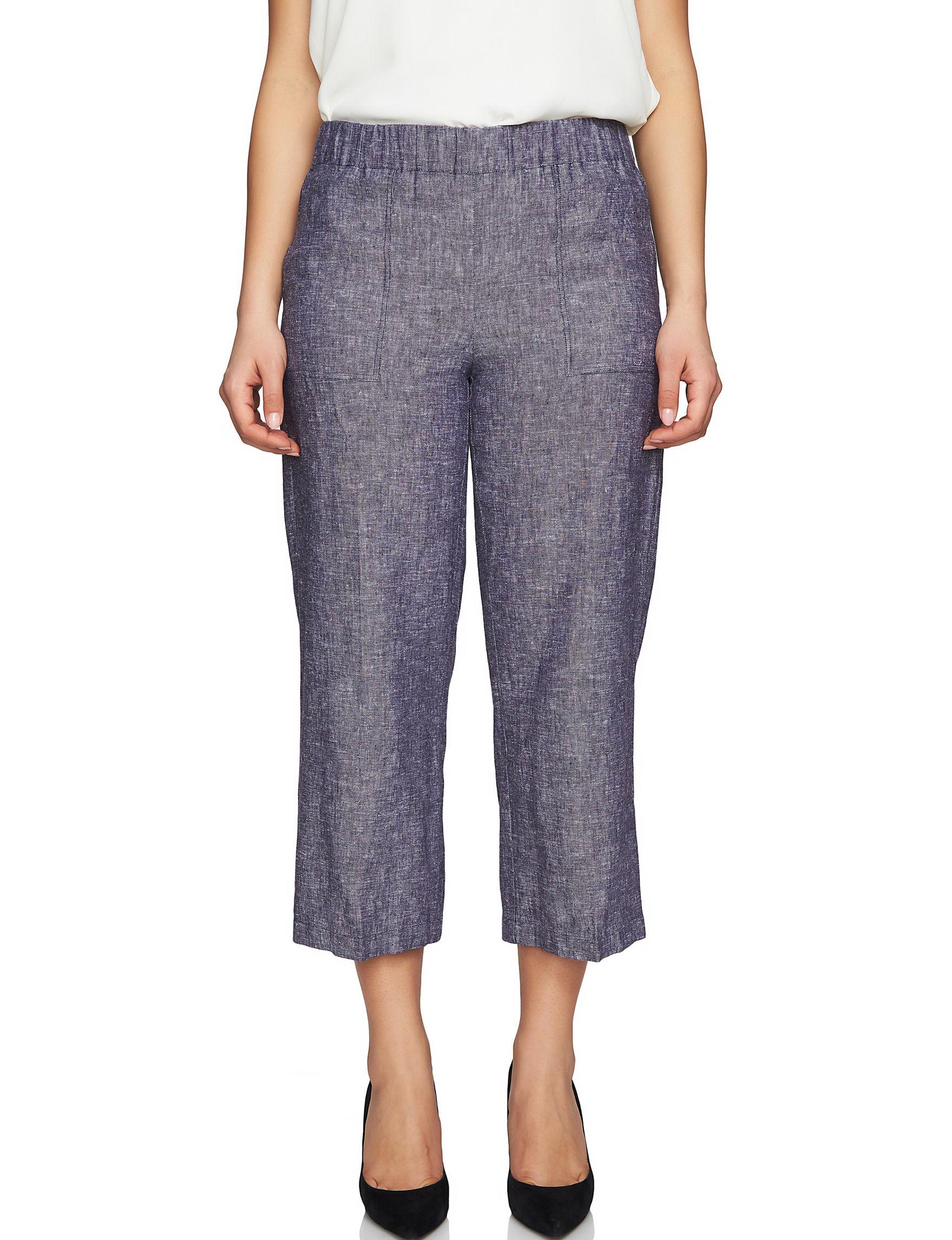 Chaus Purple Soft Pants Wide Leg