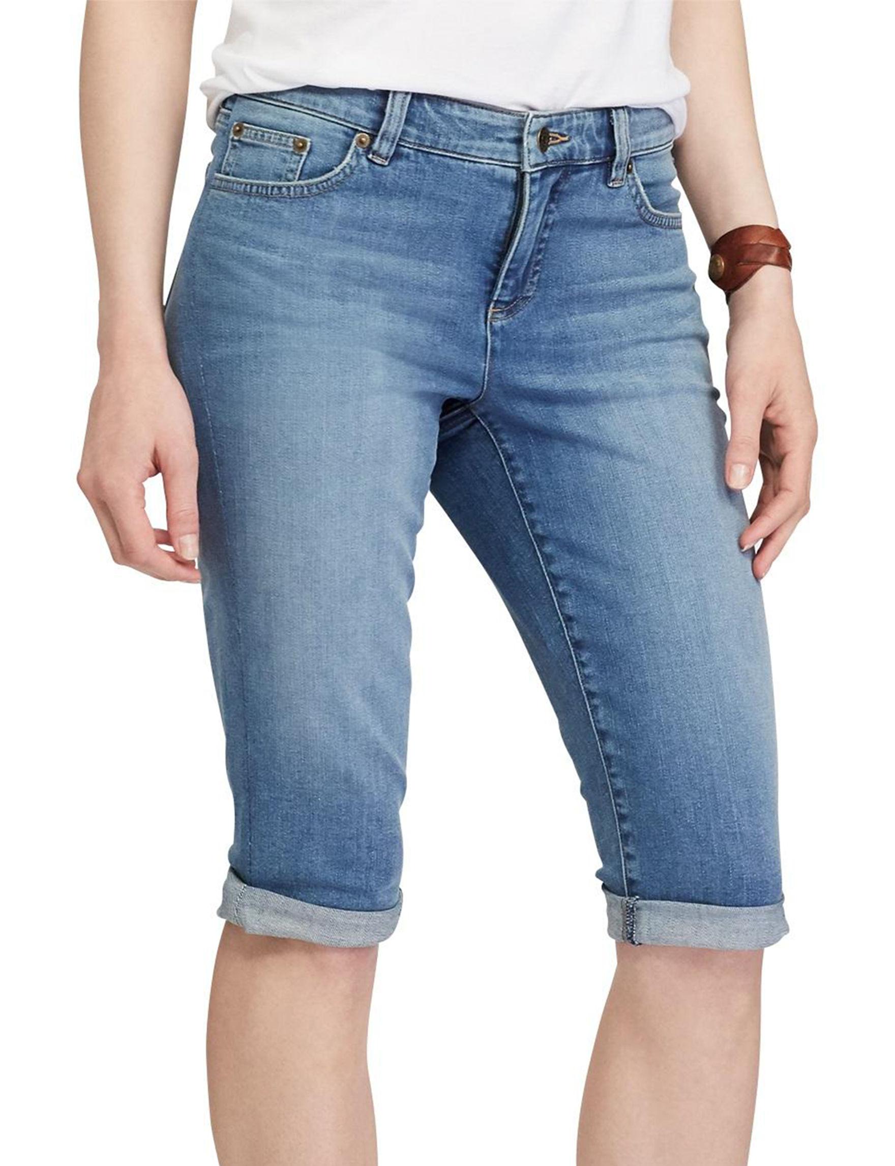 Chaps Blue Denim Shorts