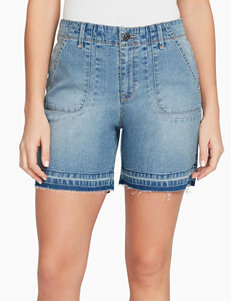 Gloria Vanderbilt Light Wash Denim Shorts
