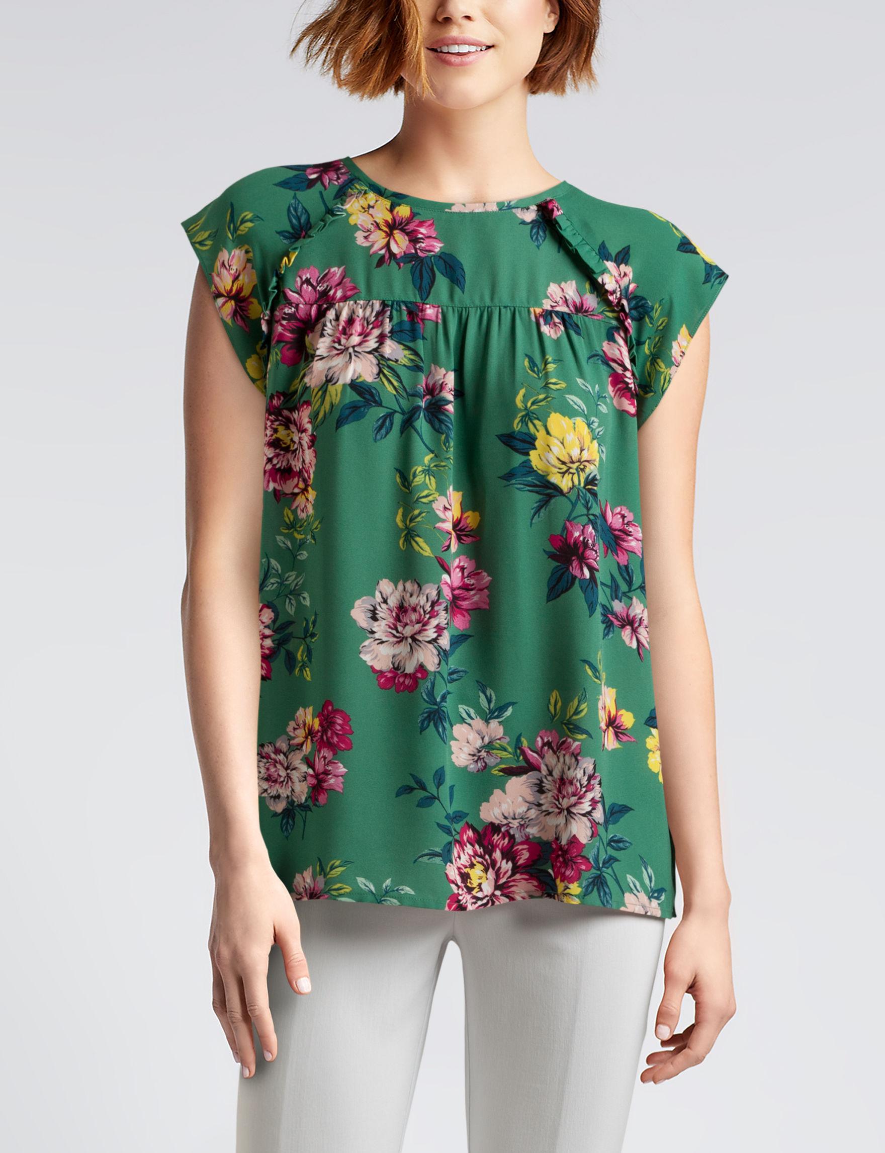 Zac & Rachel Green Shirts & Blouses