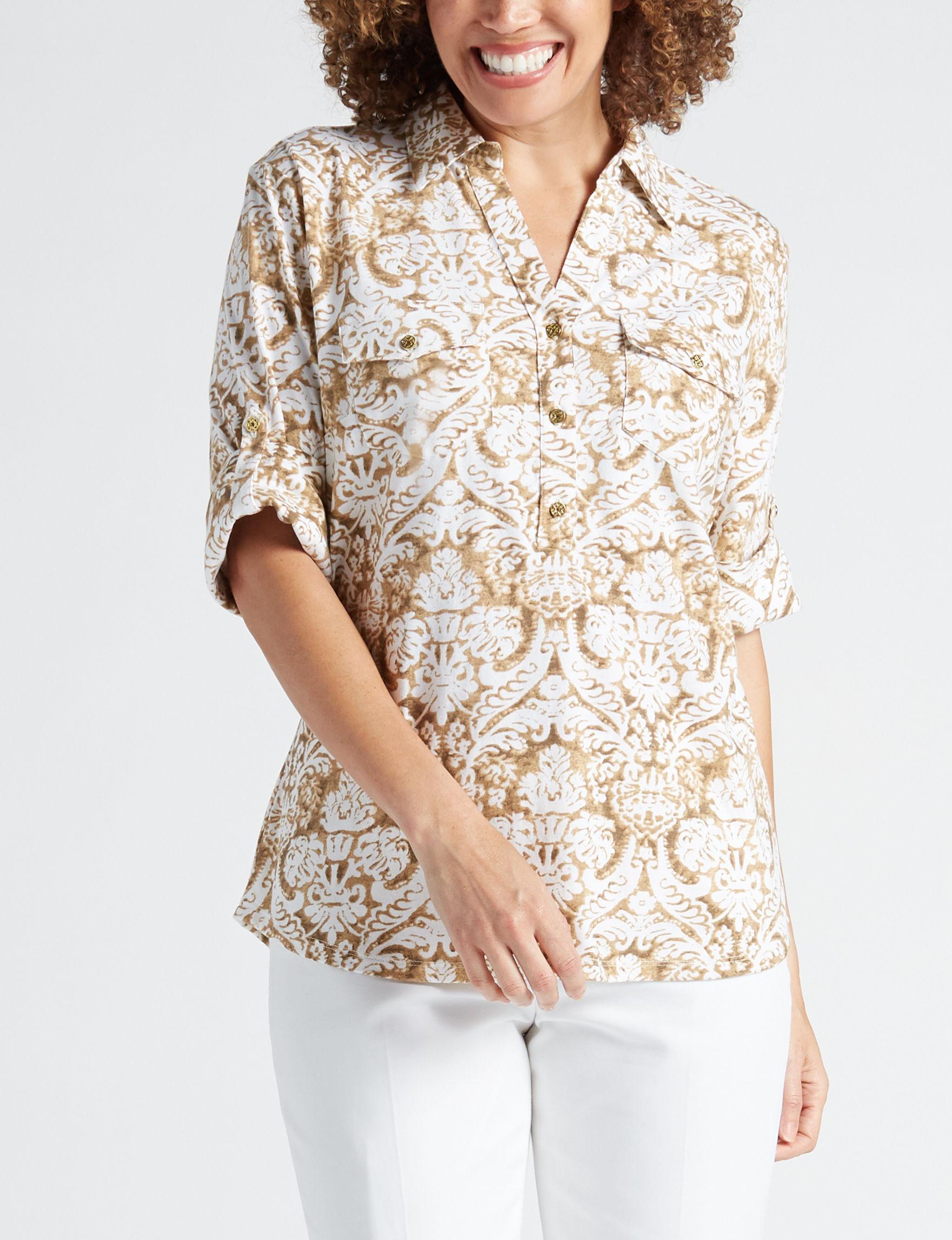 Rebecca Malone Earth Shirts & Blouses