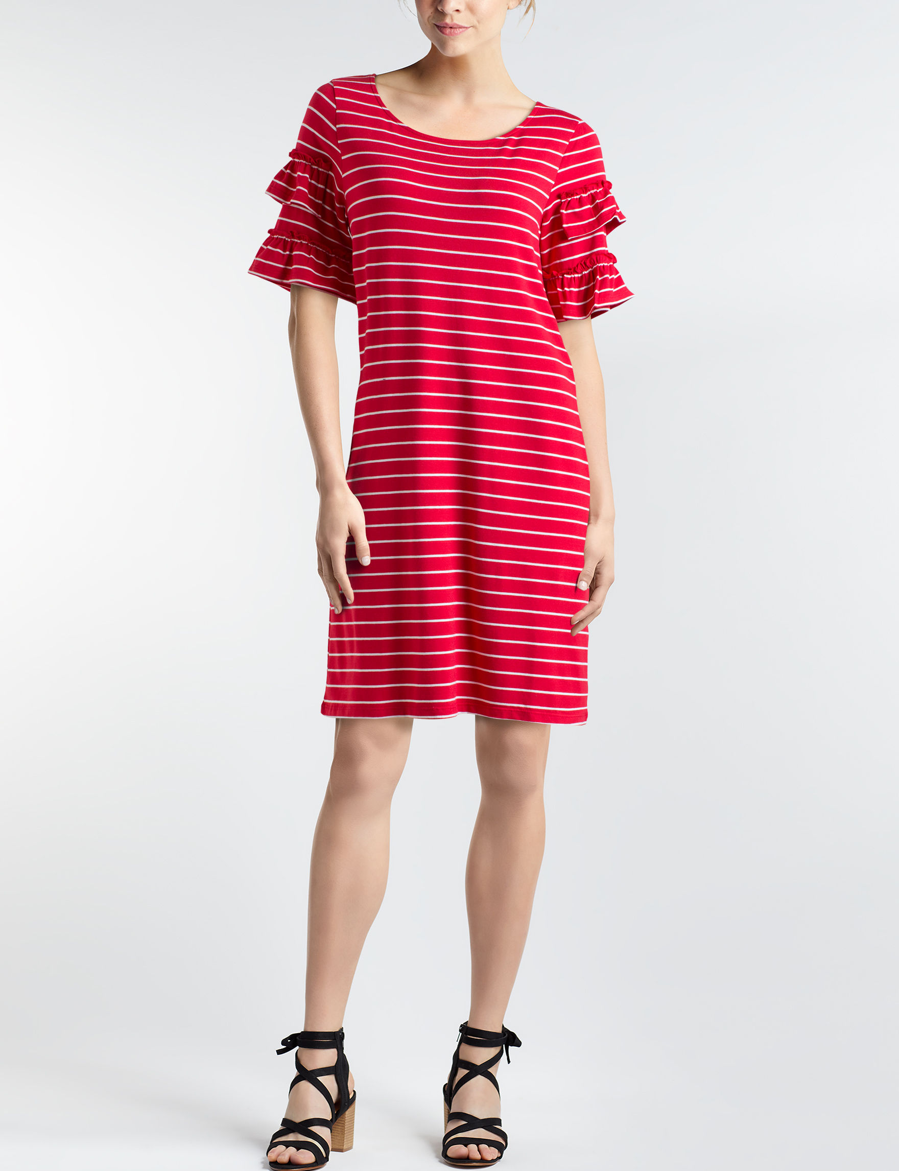 August Silk Red Everyday & Casual