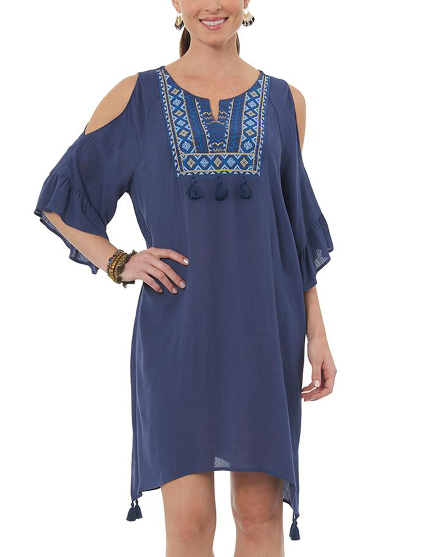 Democracy Blue Everyday & Casual Shift Dresses