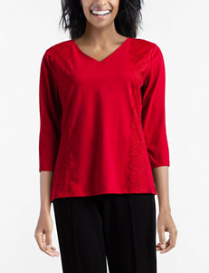 0b711d111b0 Doorbuster Rebecca Malone Red Shirts   Blouses