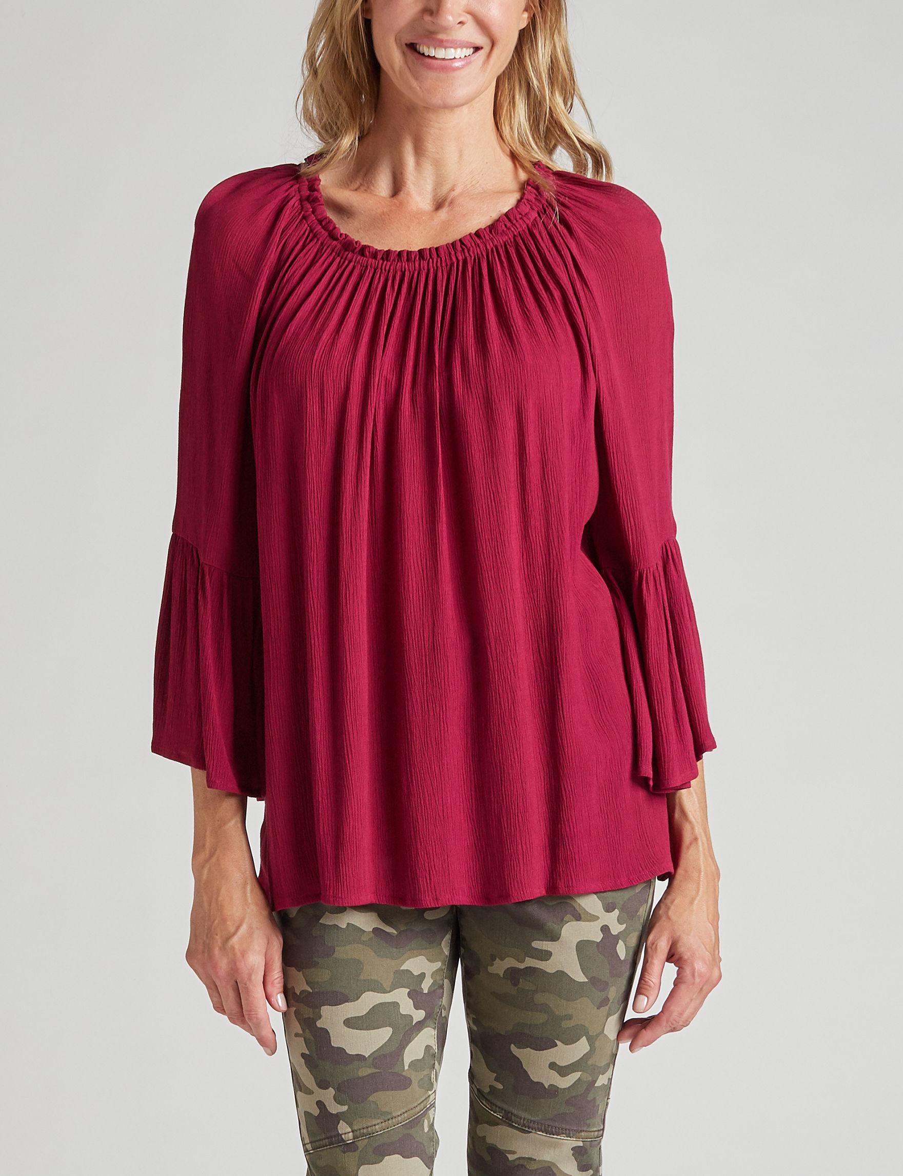 Hannah Plum Shirts & Blouses