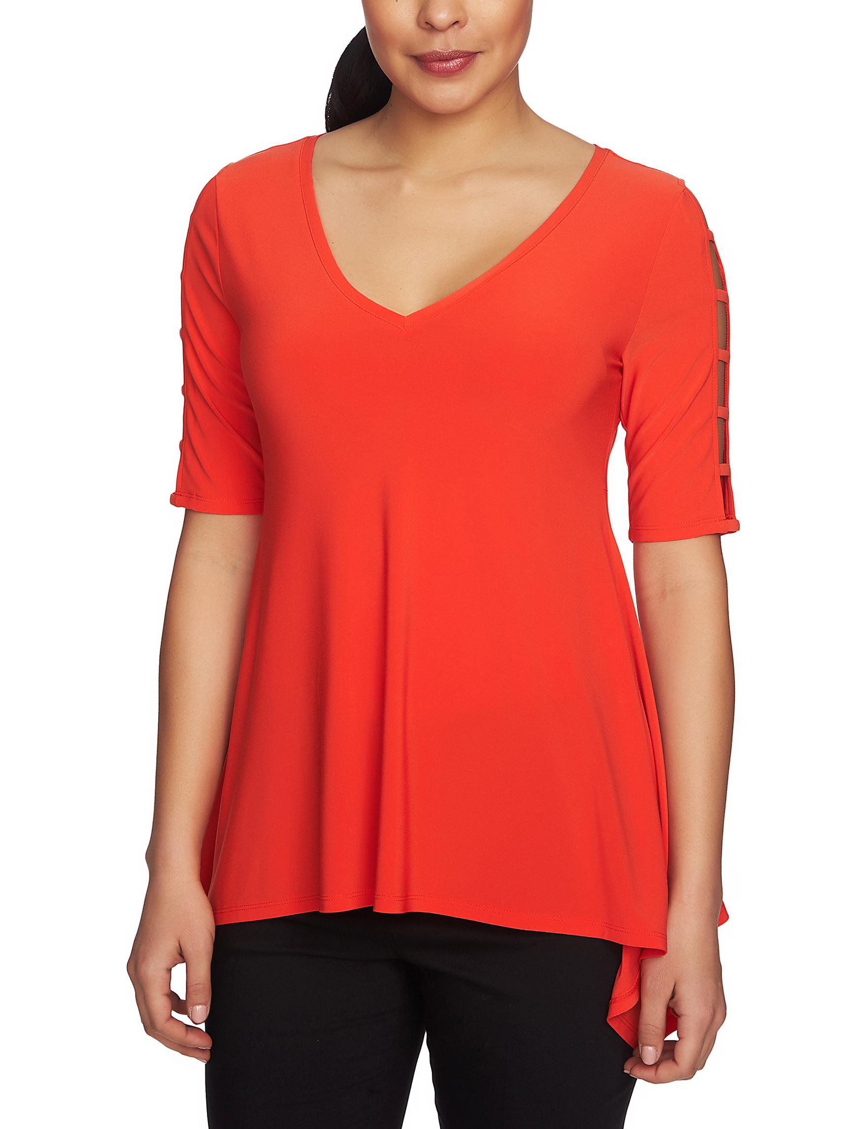 Chaus Red Shirts & Blouses