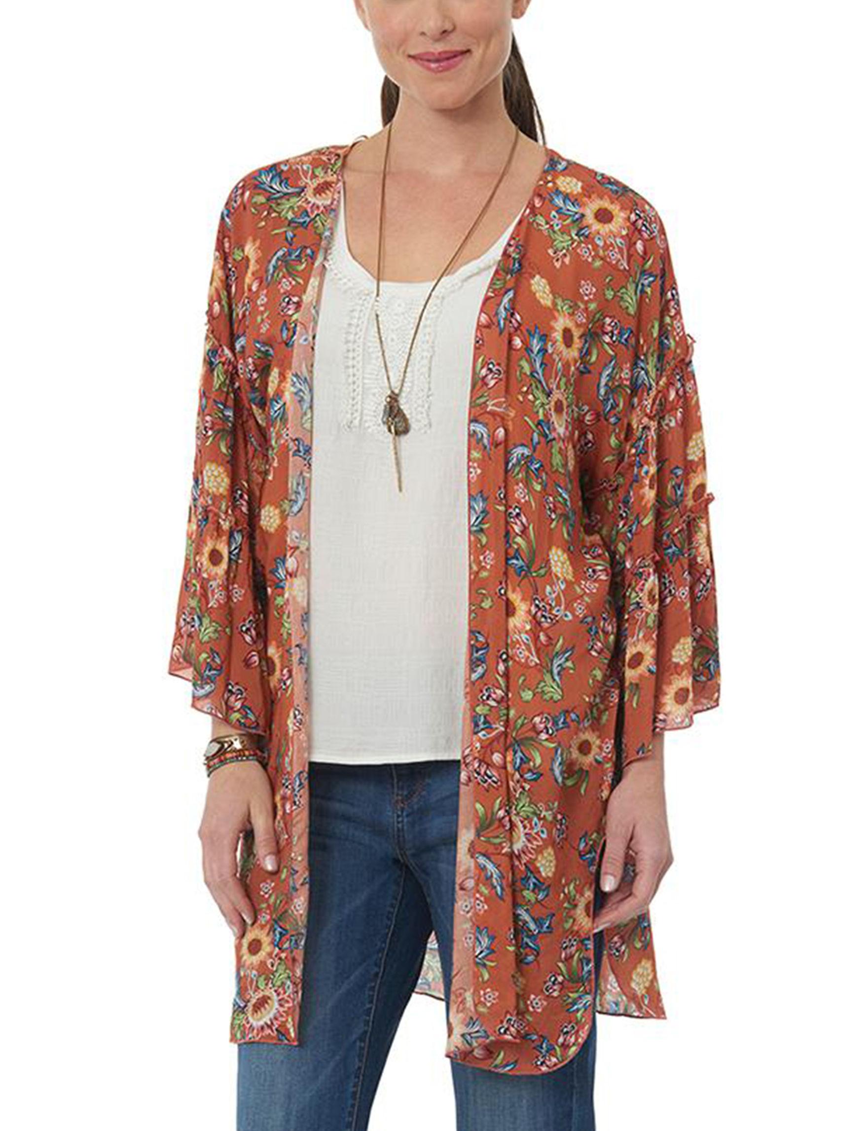 Democracy Apricot Kimonos & Toppers