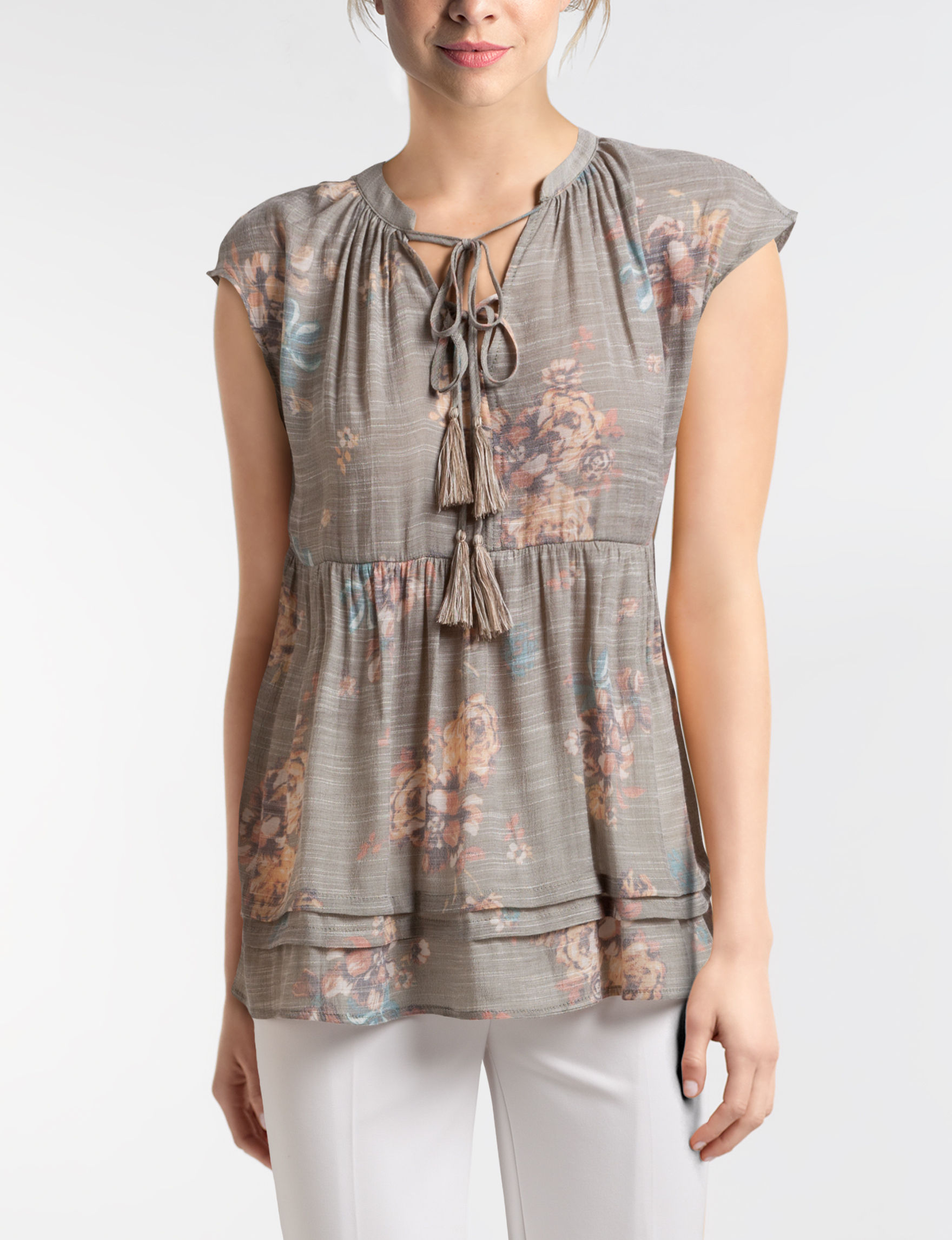 Hannah Green Multi Shirts & Blouses