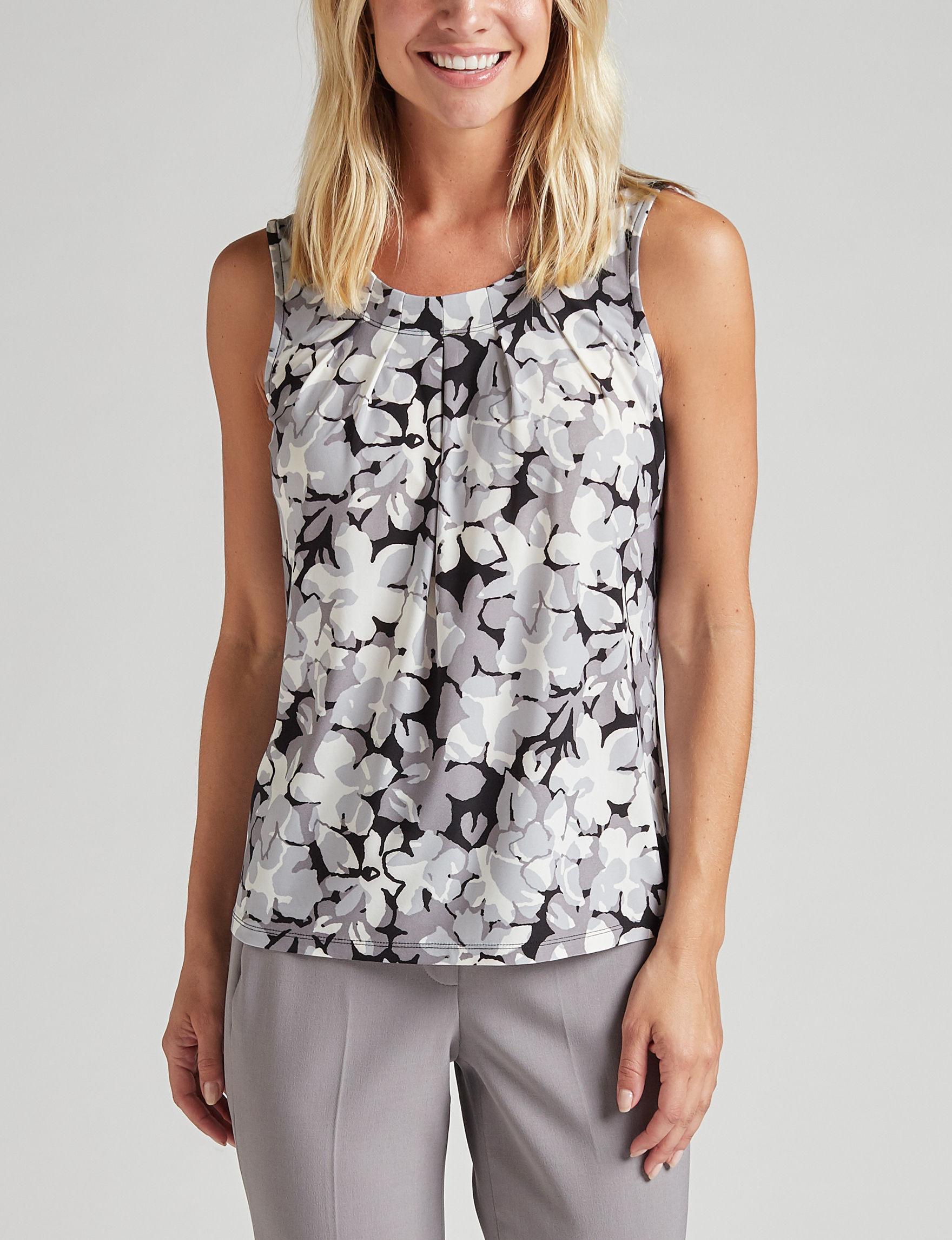Kasper Grey Shirts & Blouses