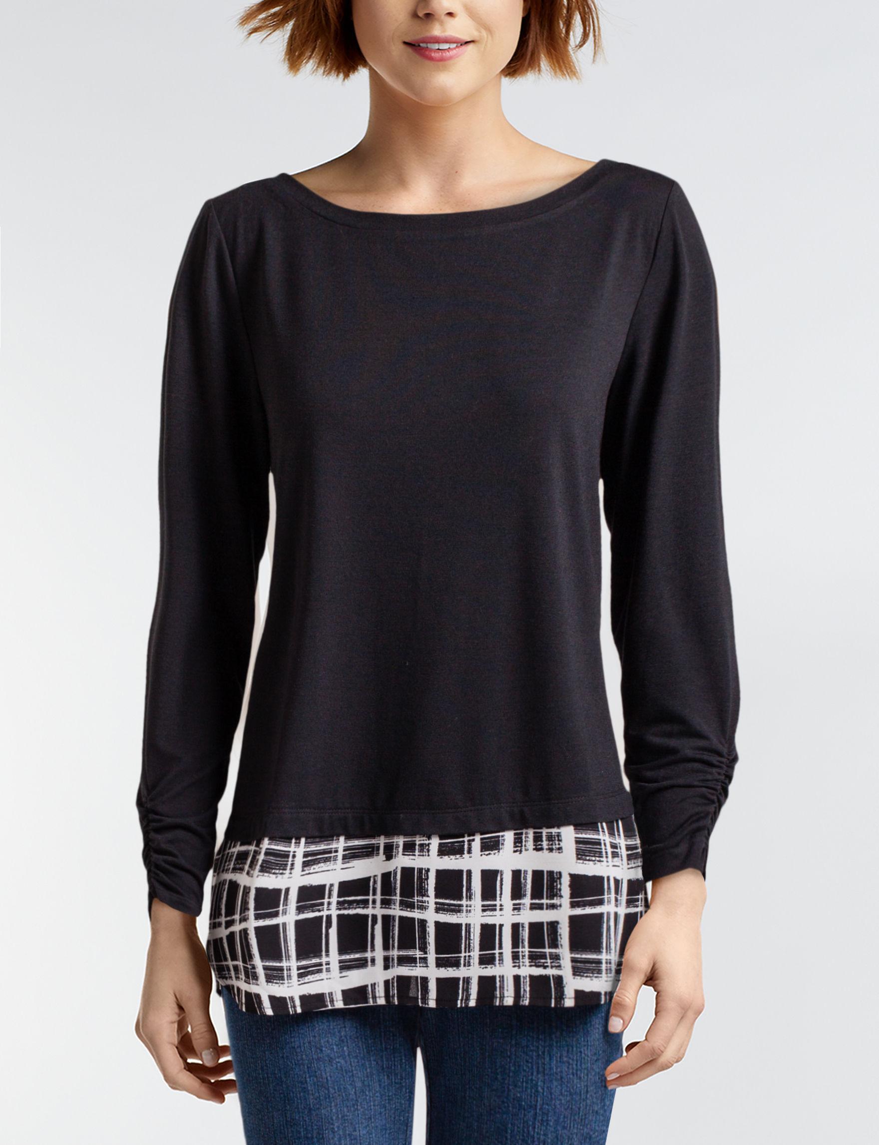 Hannah Grey Shirts & Blouses