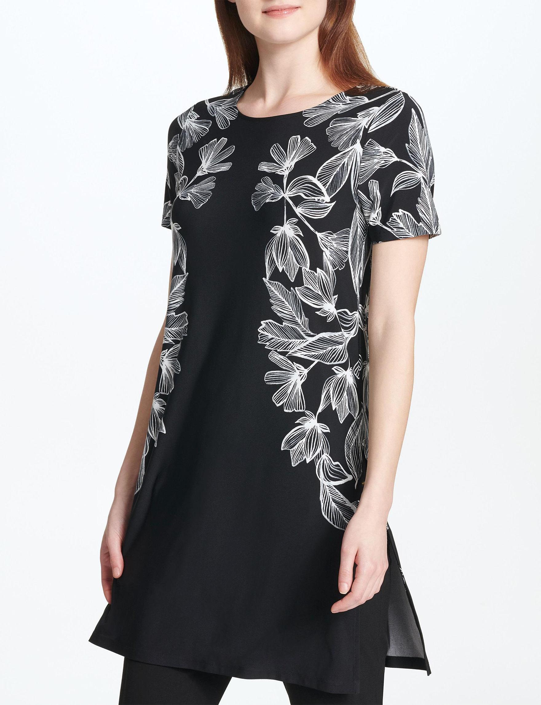Calvin Klein Black Tunics