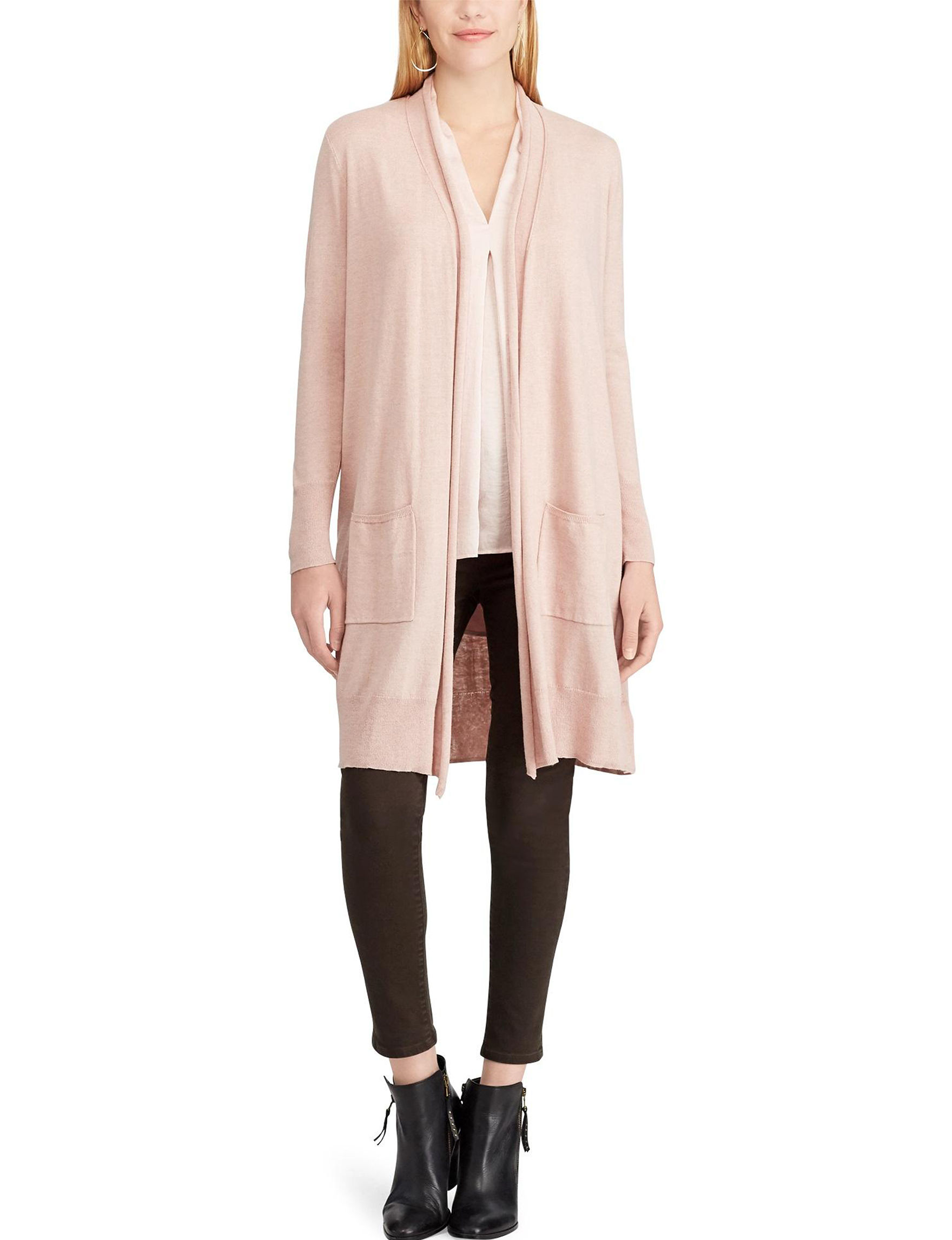 Chaps Pink Cardigans