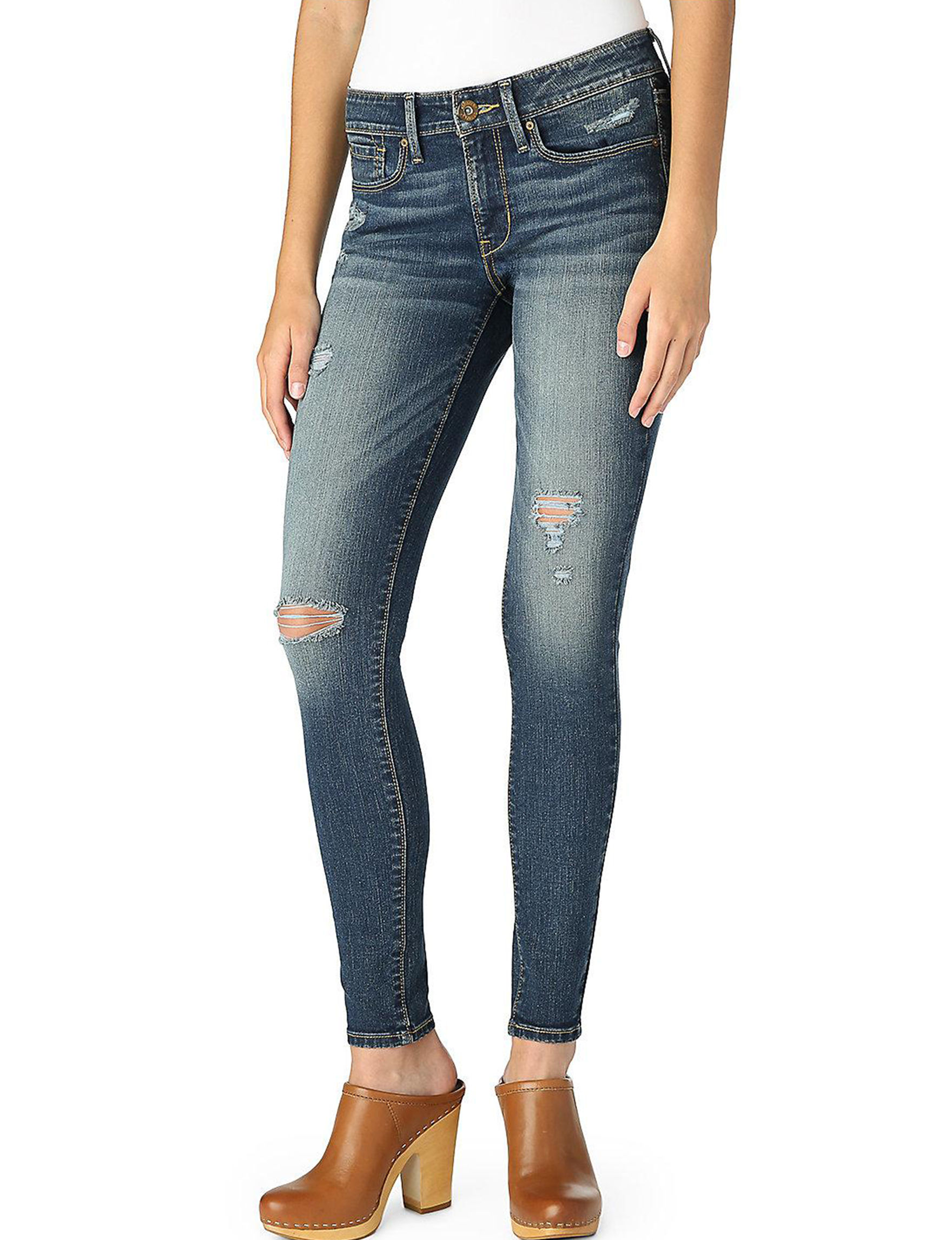 b3a1012349b3e6 Denizen from Levi's Women's Low Rise Distressed Jeggings | Stage Stores